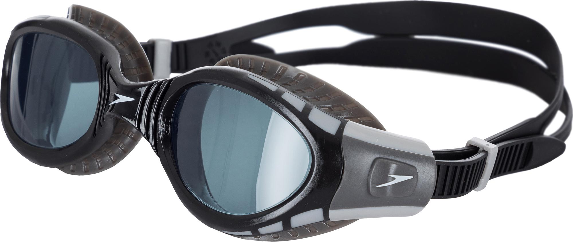 Speedo Очки для плавания Speedo ласты speedo biofuse fitness fin au цвет серый розовый размер xl 45 47