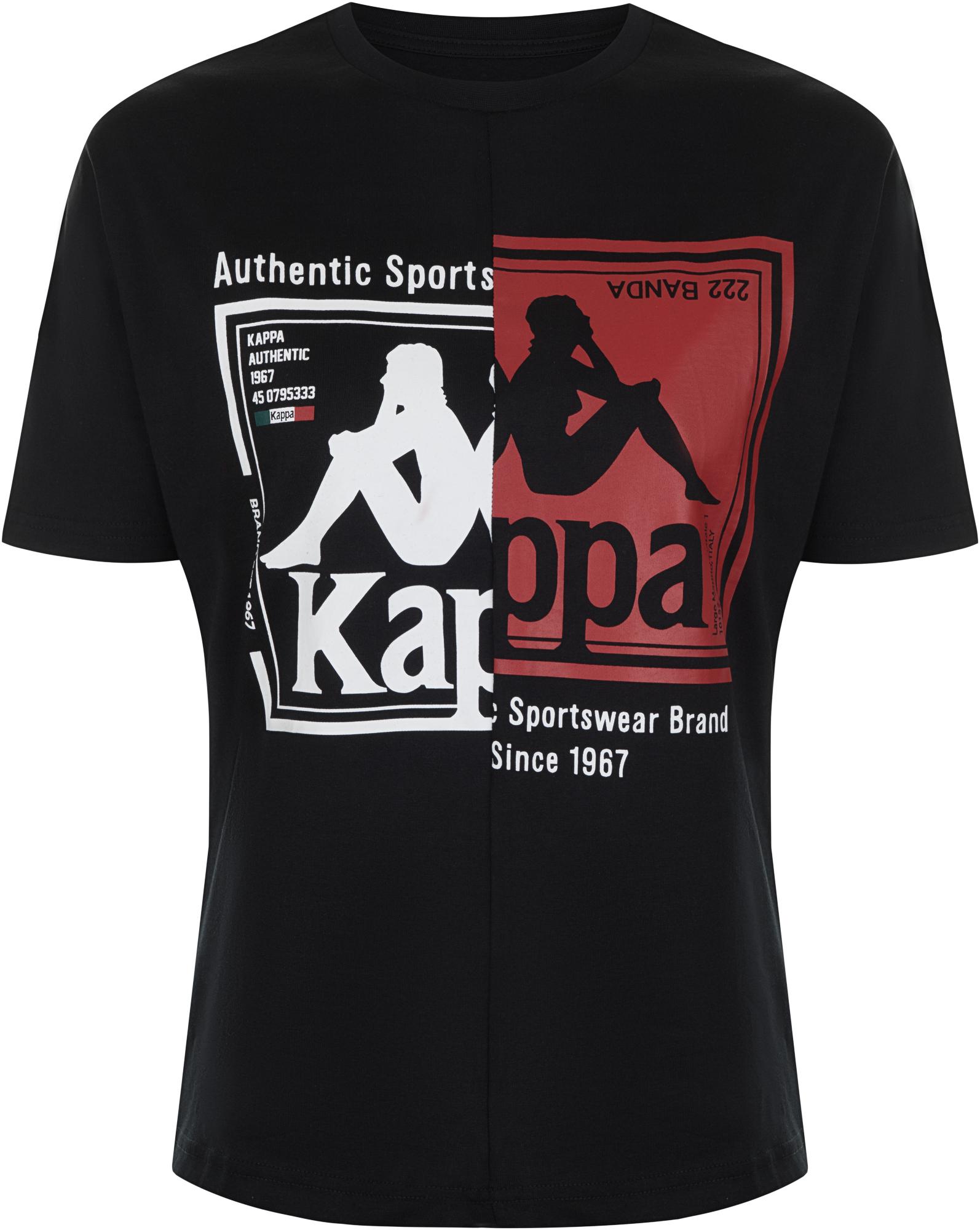 Kappa Футболка женская Kappa, размер 42 цена