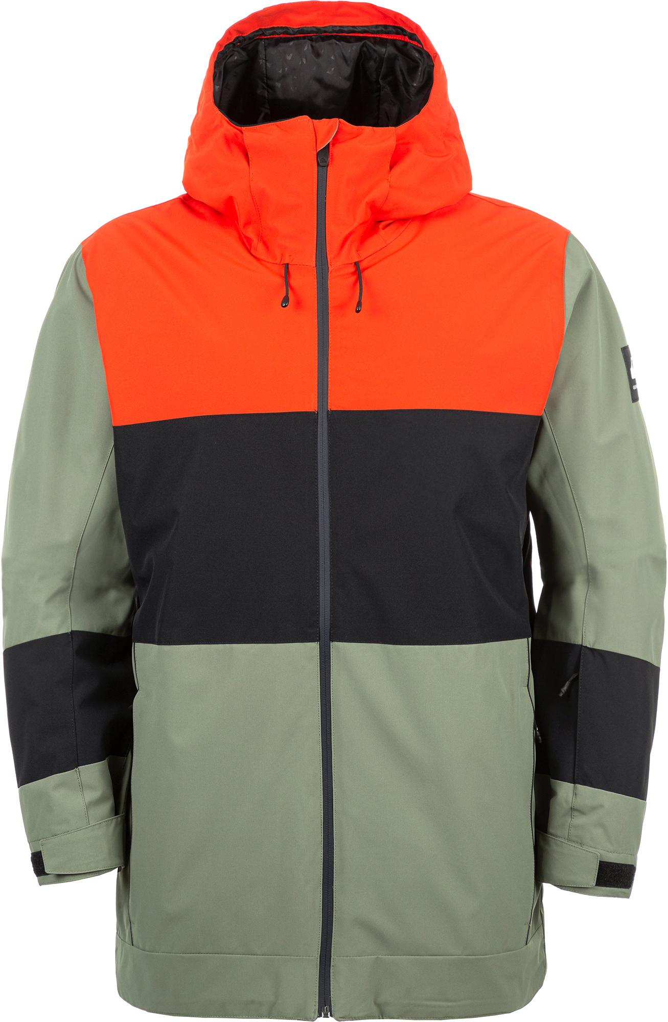 Quiksilver Куртка утепленная мужская Quiksilver Sycamore Jk, размер 48-50 куртка quiksilver quiksilver qu192emedhx1
