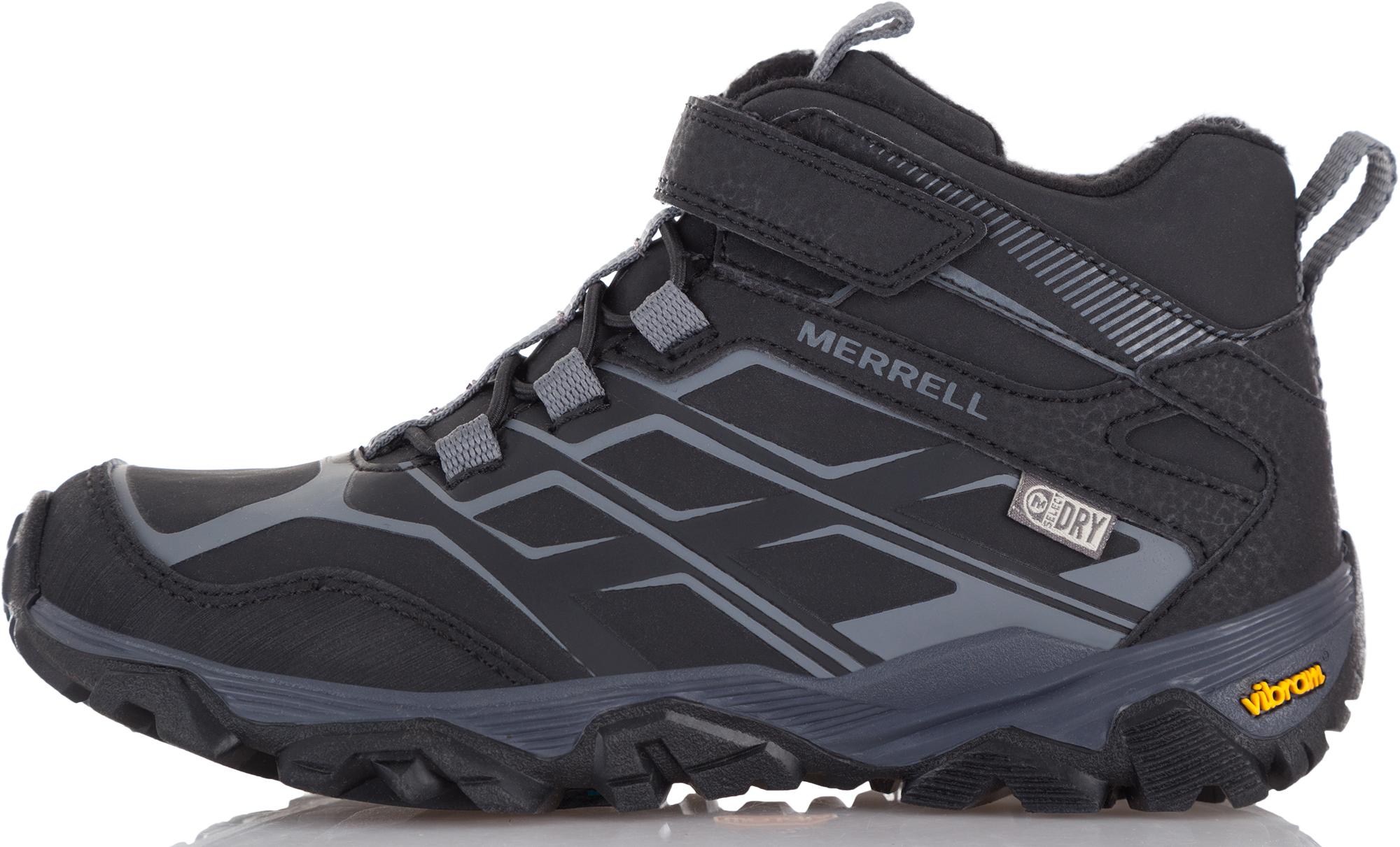купить Merrell Ботинки утепленные для мальчиков Merrell Moab, размер 33 онлайн