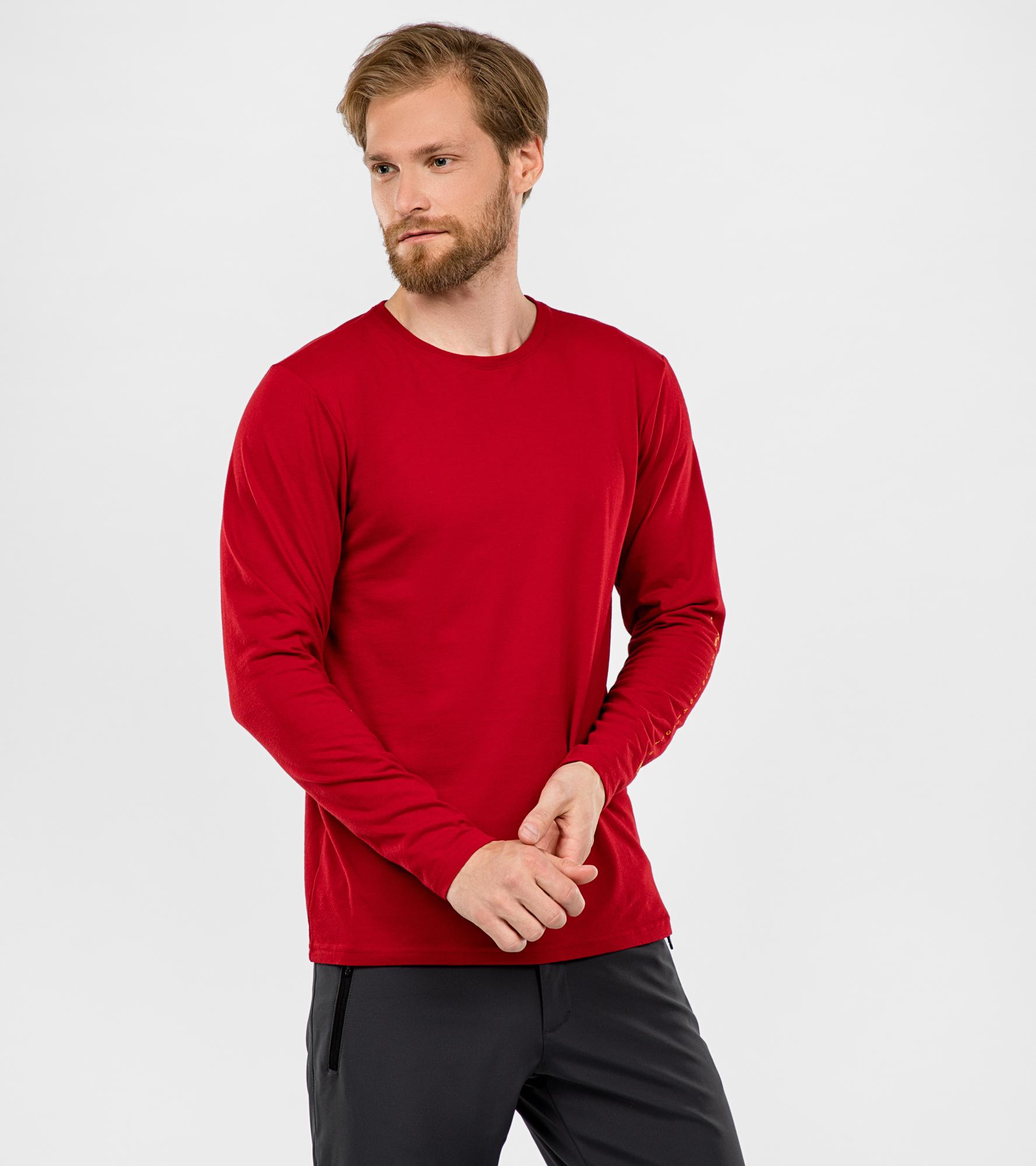 Mountain Hardwear Лонгслив мужской Vertical Oriented™, размер 56