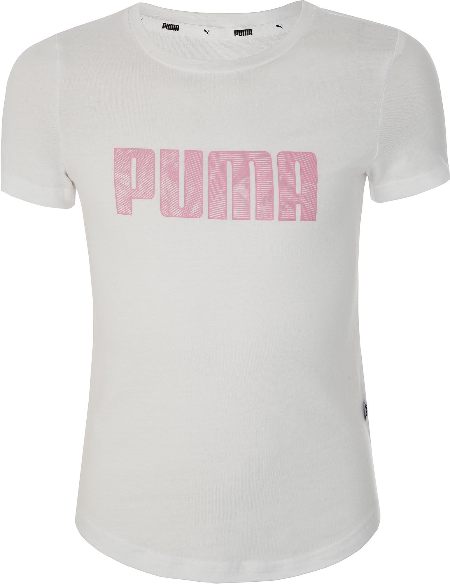 Puma Футболка для девочек Puma KA Tee, размер 164