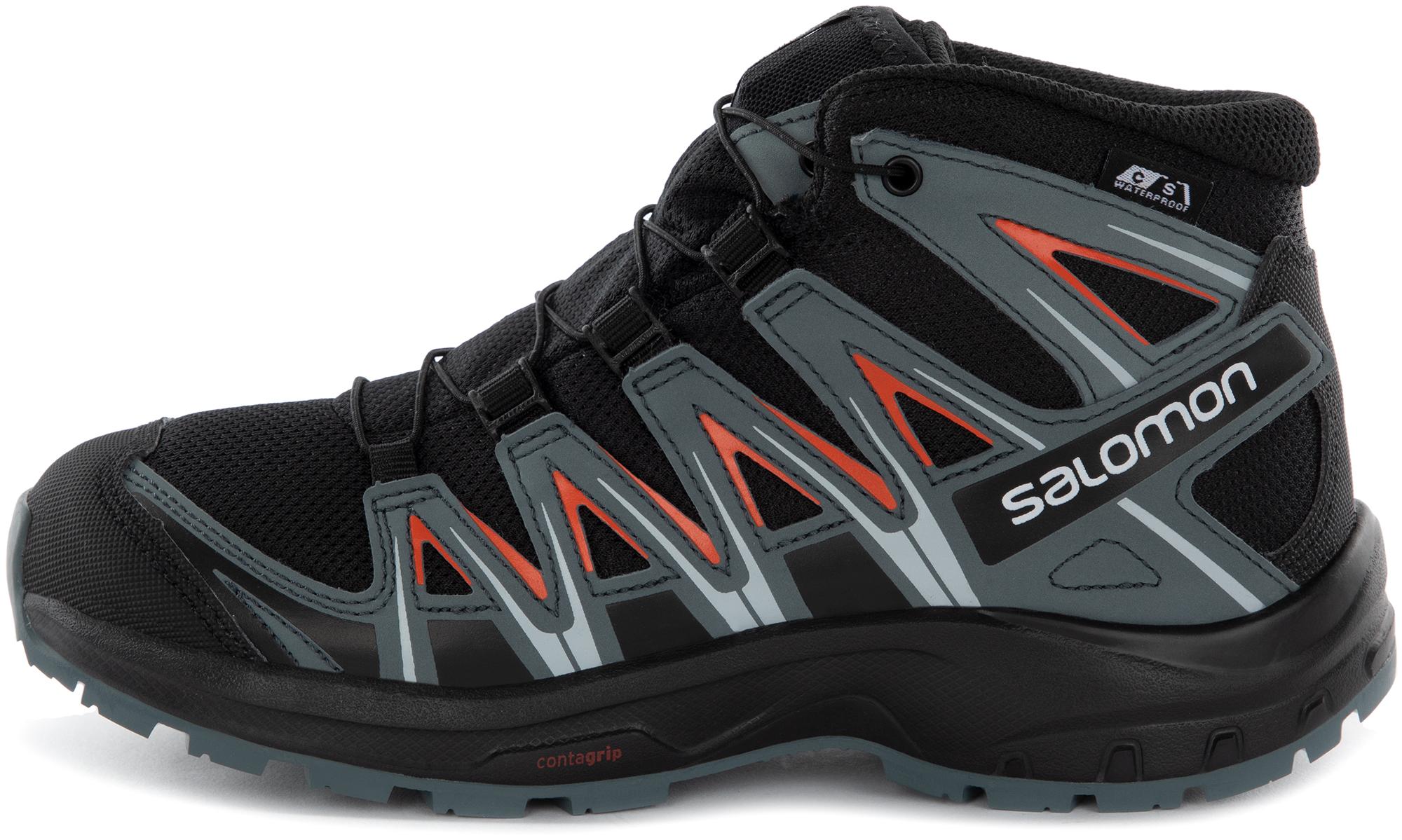 Salomon Ботинки утепленные для мальчиков Salomon XA PRO 3D MID CSWP J, размер 35
