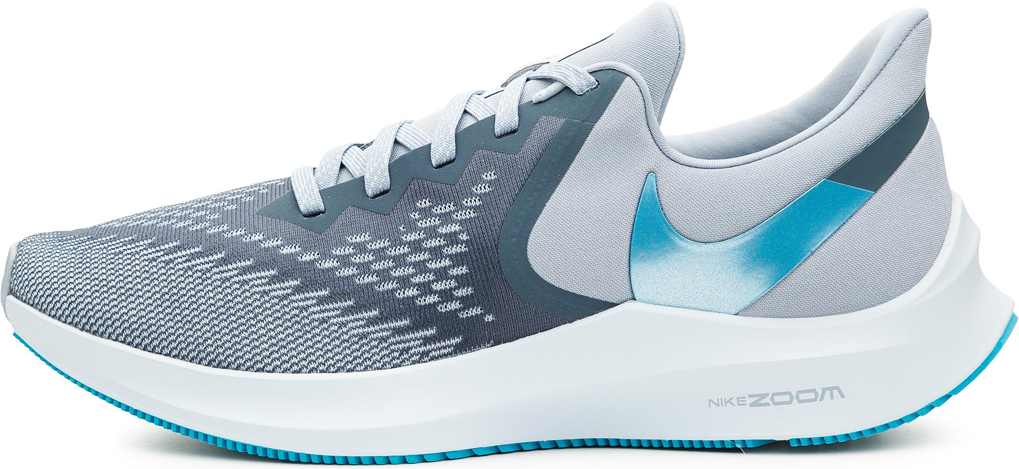 цена Nike Кроссовки мужские Nike Zoom Winflo 6, размер 45 онлайн в 2017 году