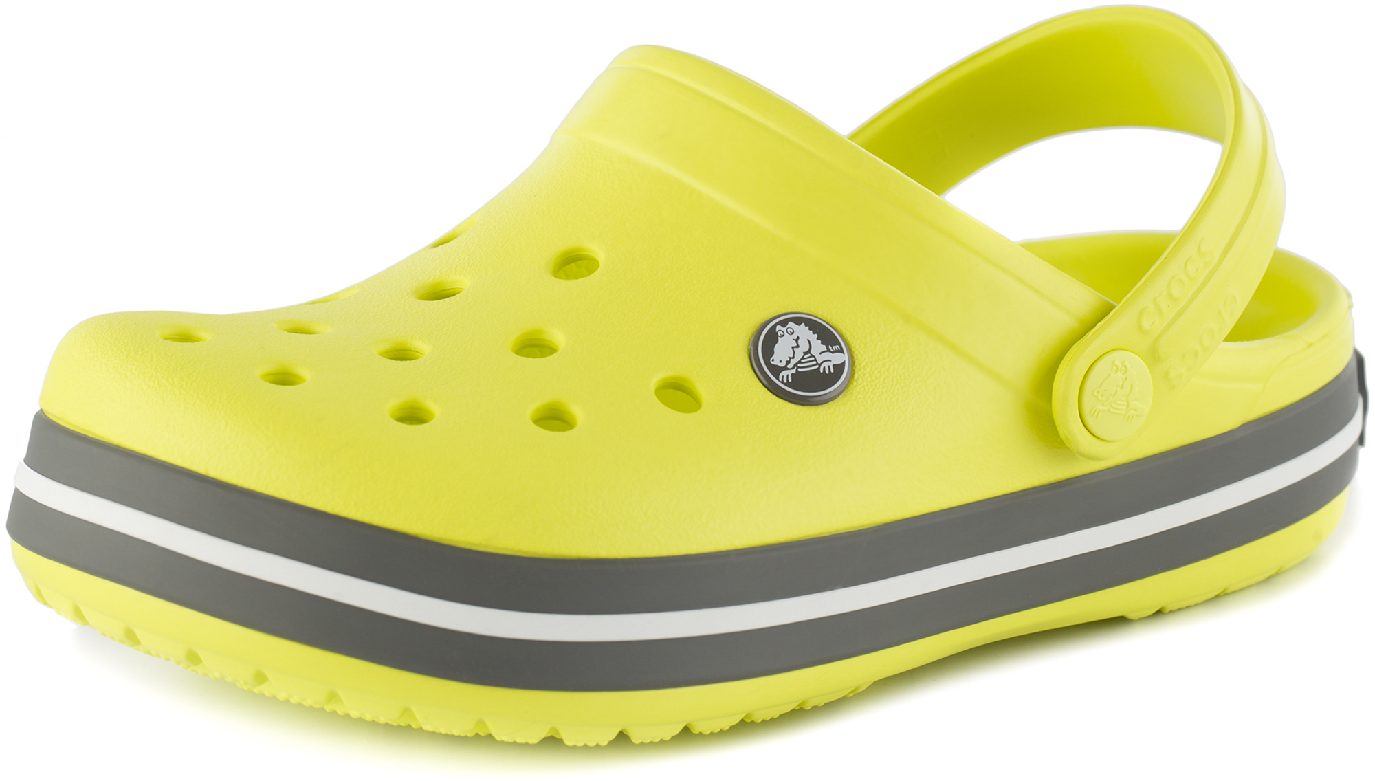 Crocs Шлепанцы детские Crocs Crocband Clog K, размер 27 crocs crocband clog k kids or boys for girls children kids tmallfs