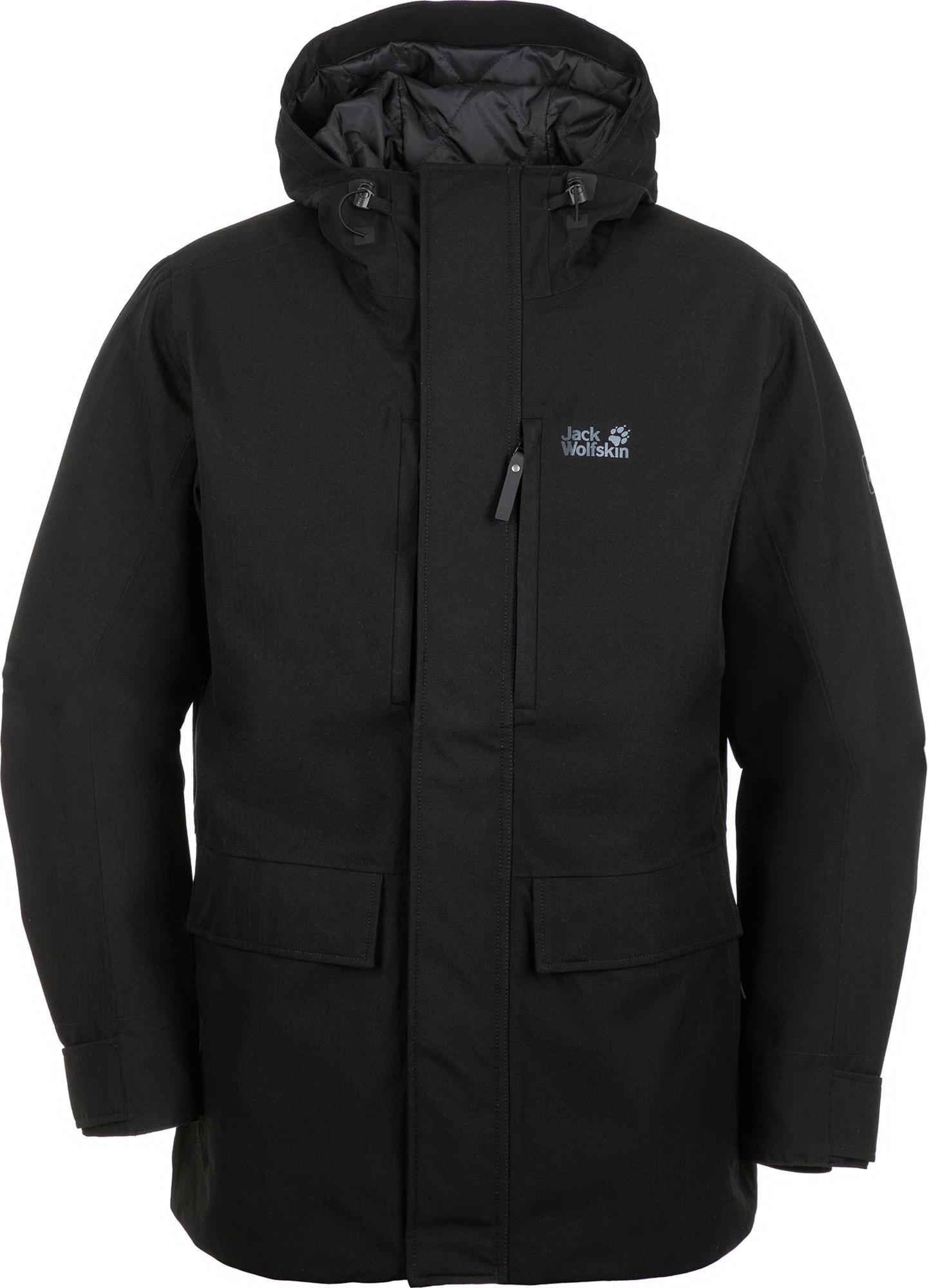 JACK WOLFSKIN Куртка утепленная мужская Jack Wolfskin West Coast, размер 44