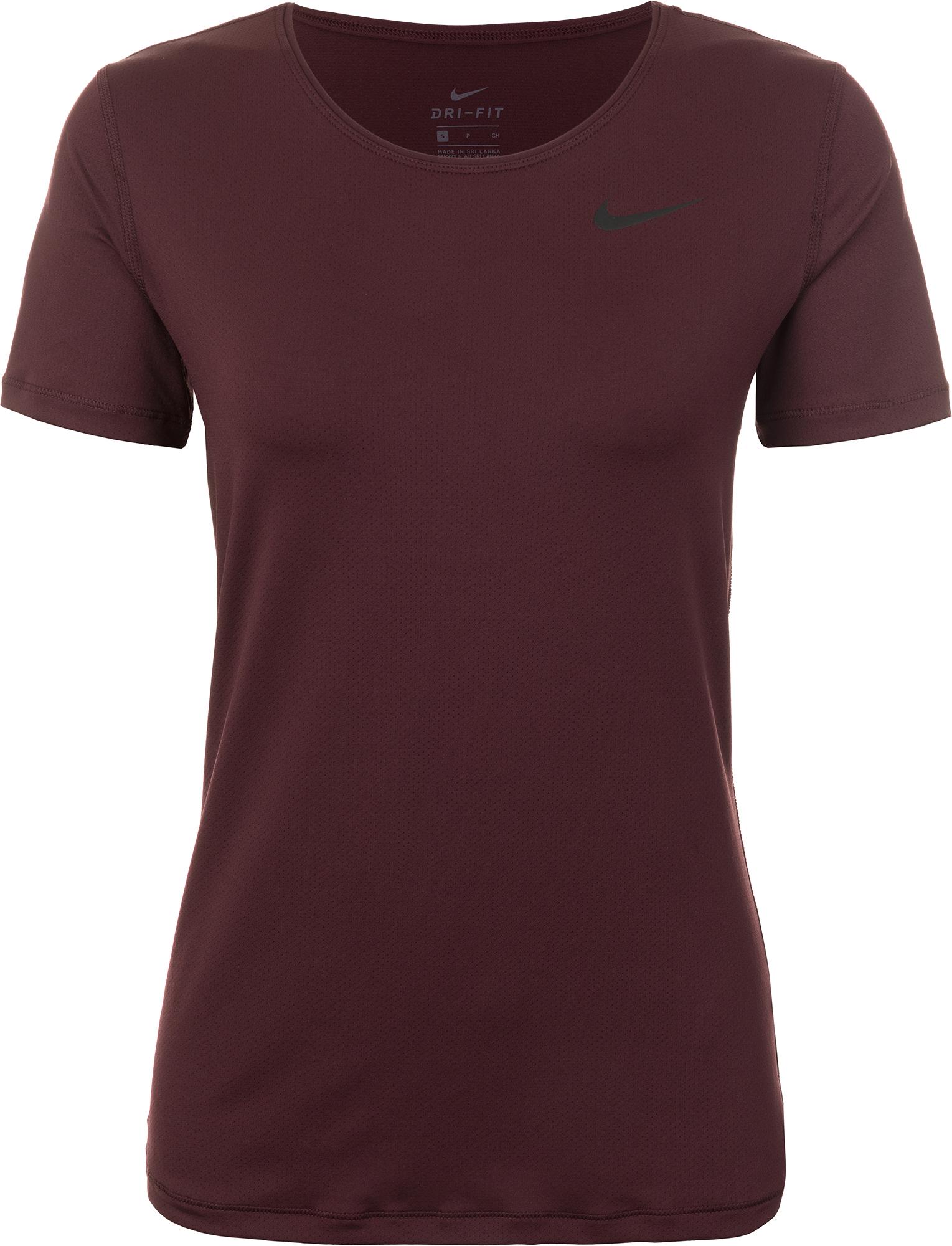 Nike Футболка женская Nike Pro, размер 48-50 футболка женская nike pro top цвет белый 889540 100 размер s 42 44