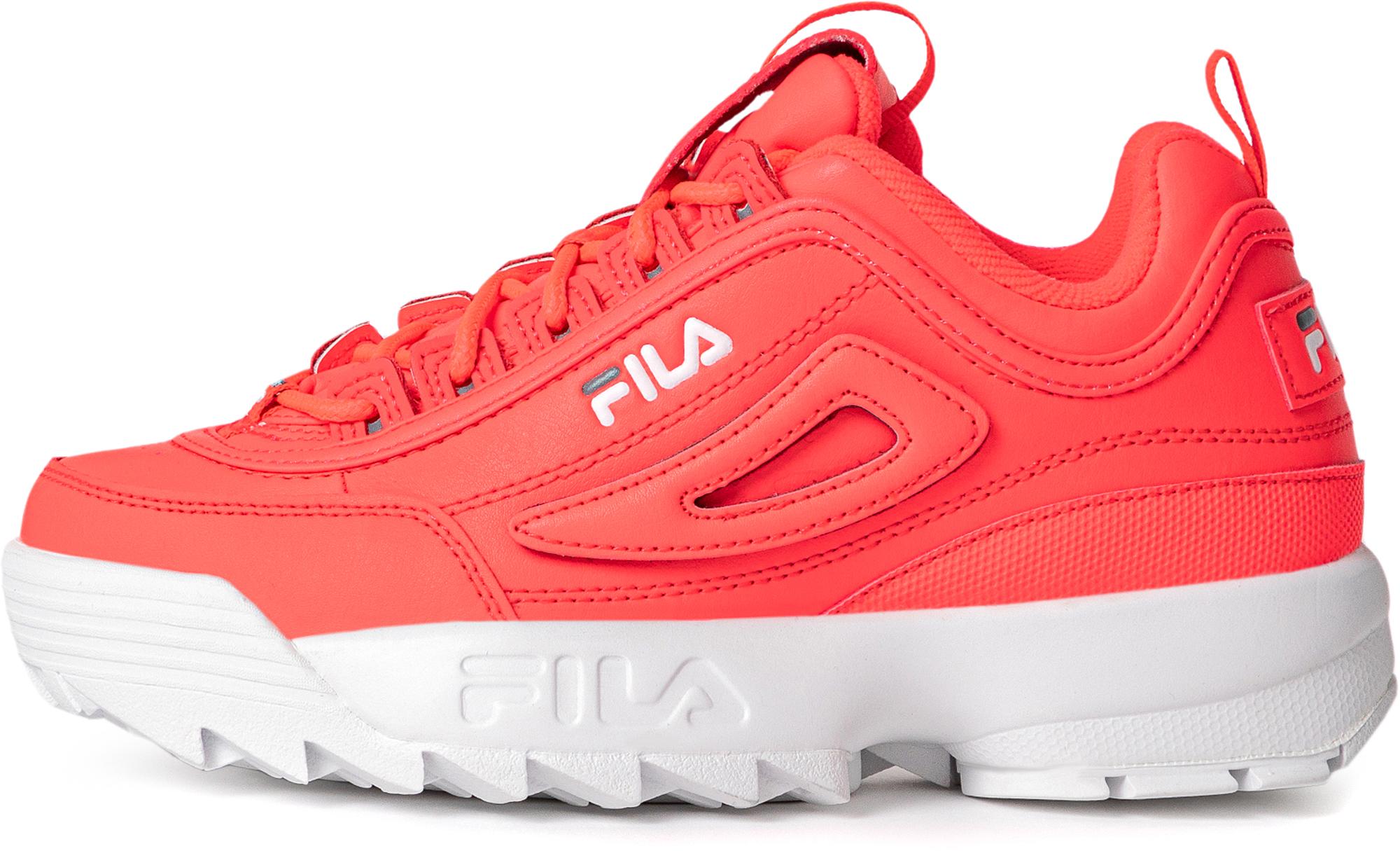 Fila Кроссовки для девочек Fila Disruptor Ii Logo Reveal, размер 34