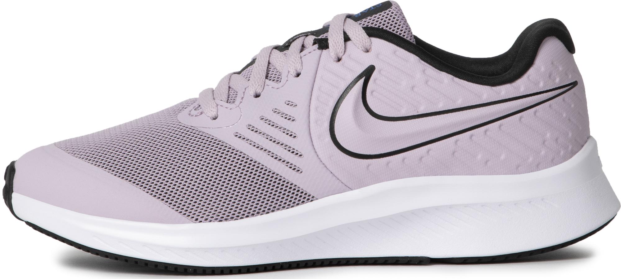Nike Кроссовки для девочек Nike Star Runner 2 (Gs), размер 35 одежда для занятий баскетболом nike 005027 11 diy