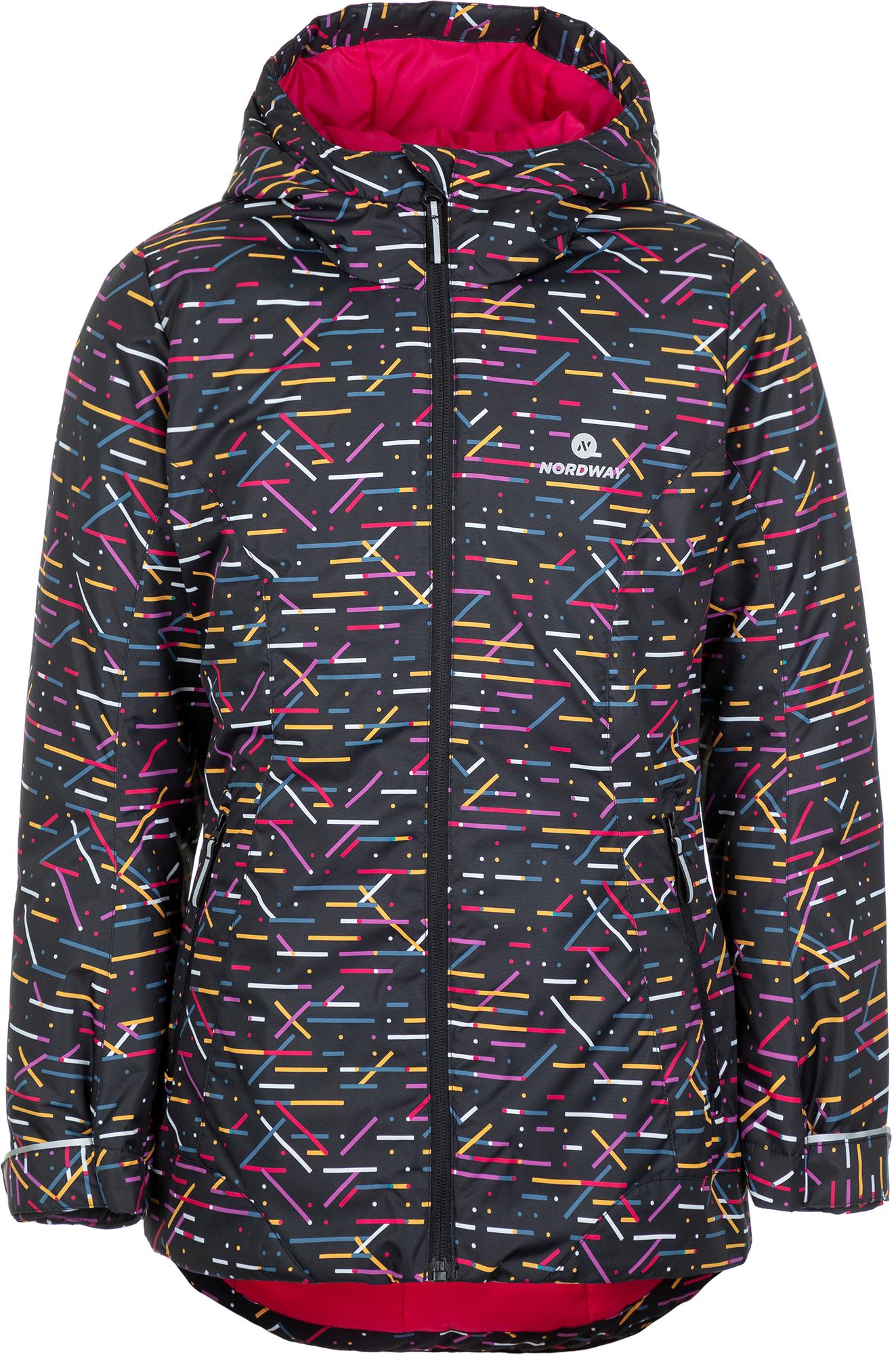 nordway клюшка хоккейная детская nordway Nordway Куртка для девочек Nordway, размер 134