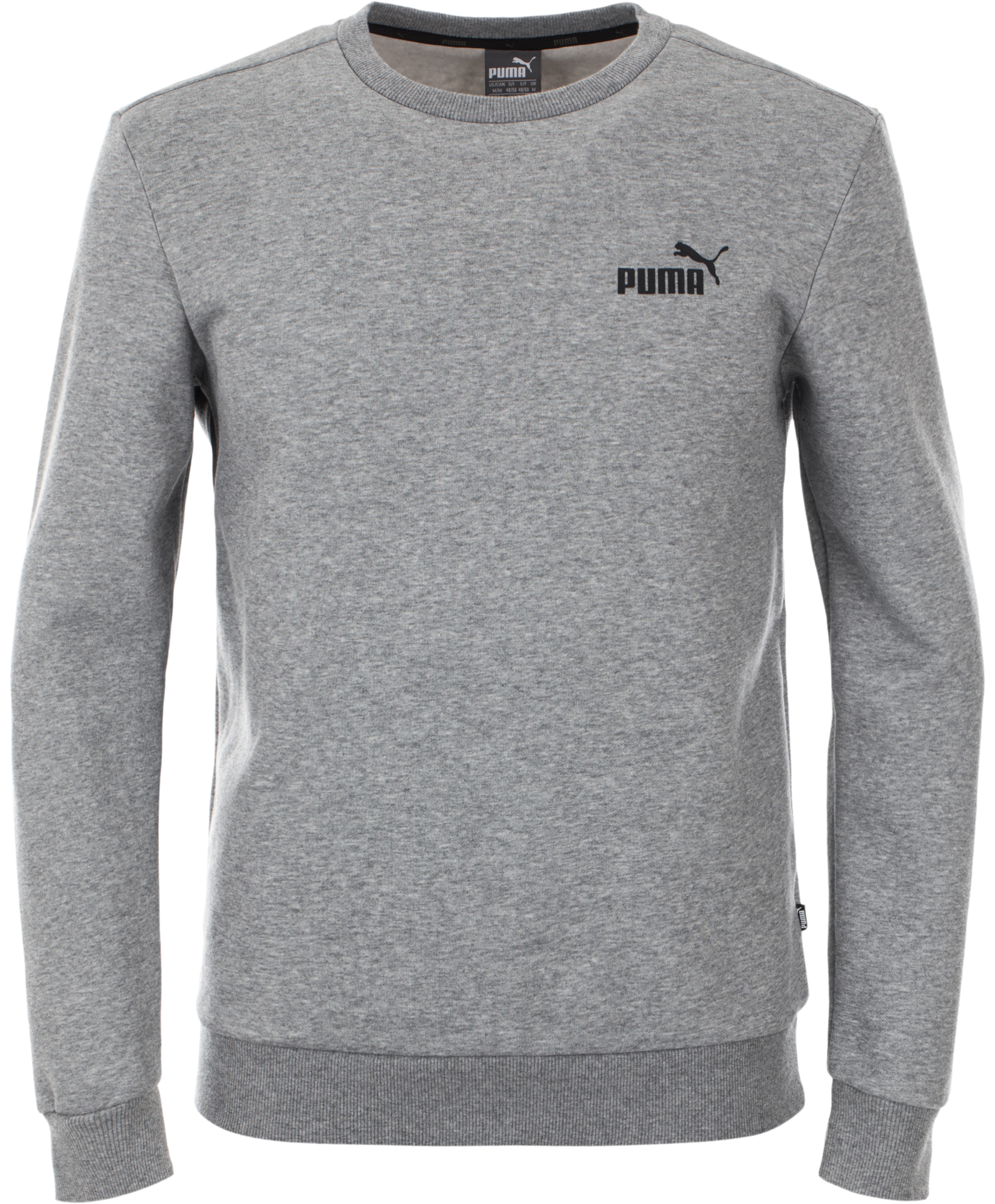 Puma Джемпер мужской Puma Ess Logo Crew, размер 50-52 цены онлайн