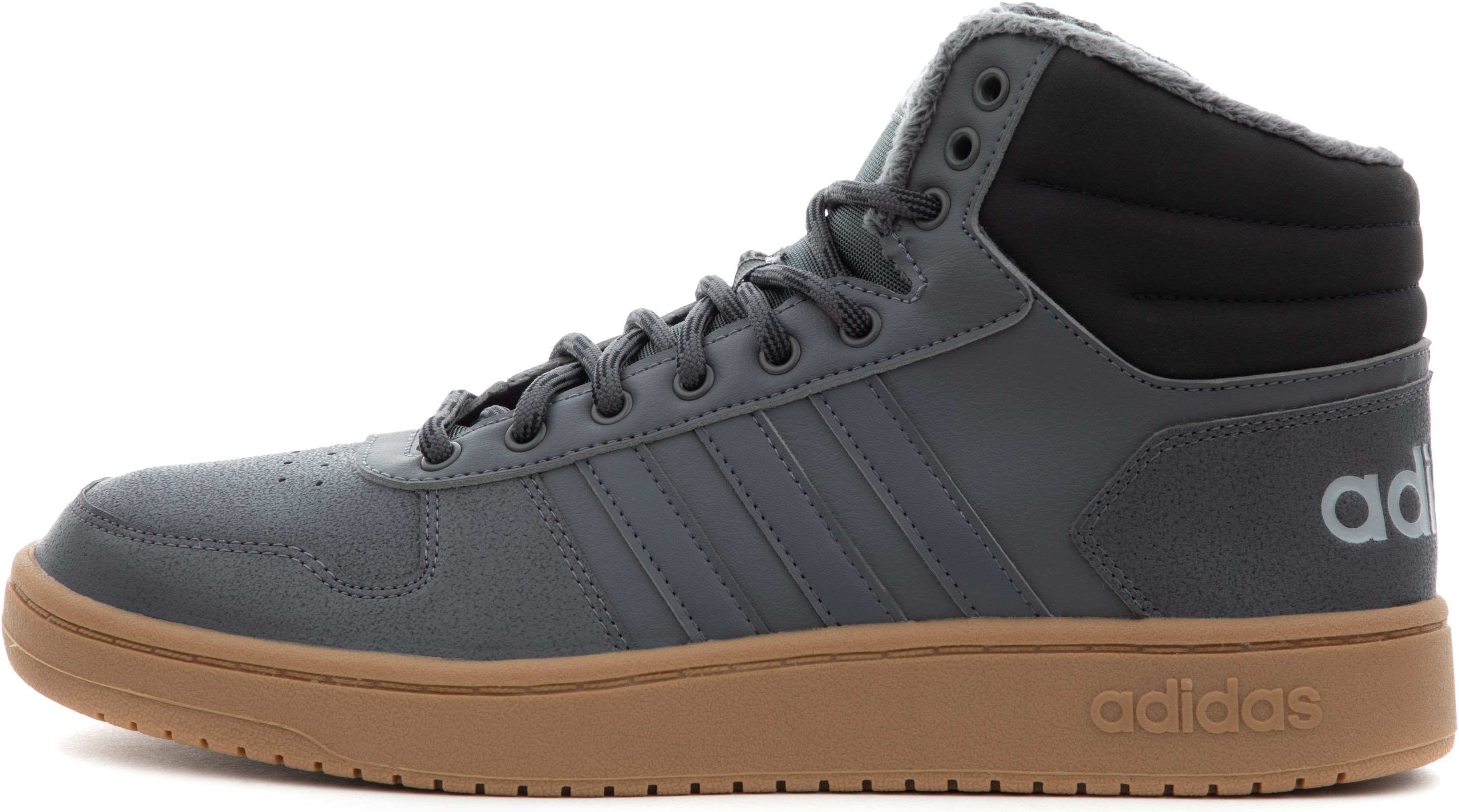 Adidas Кеды мужские HOOPS, размер 44,5