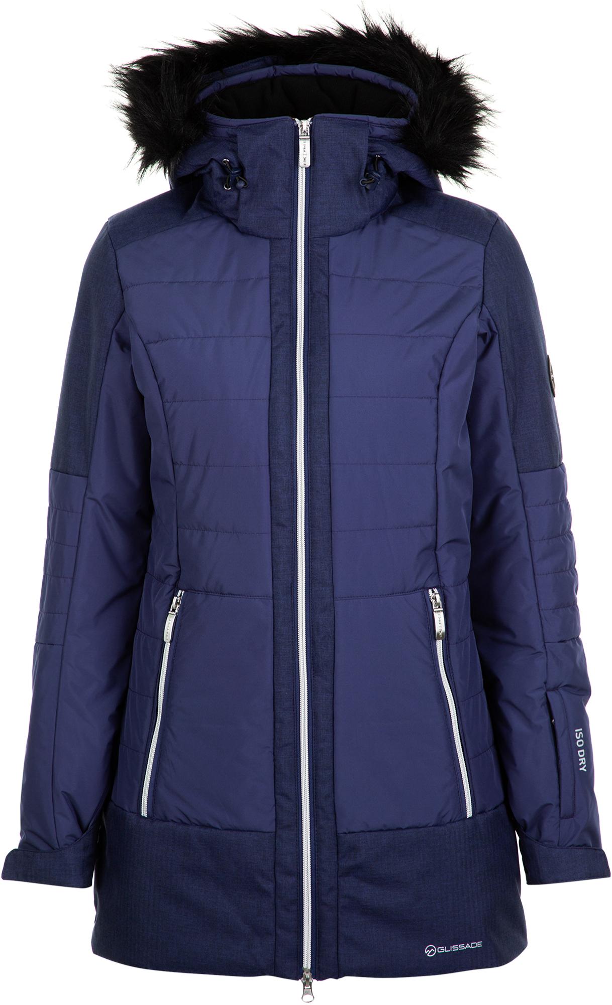 Glissade Куртка утепленная женская Glissade, размер 54