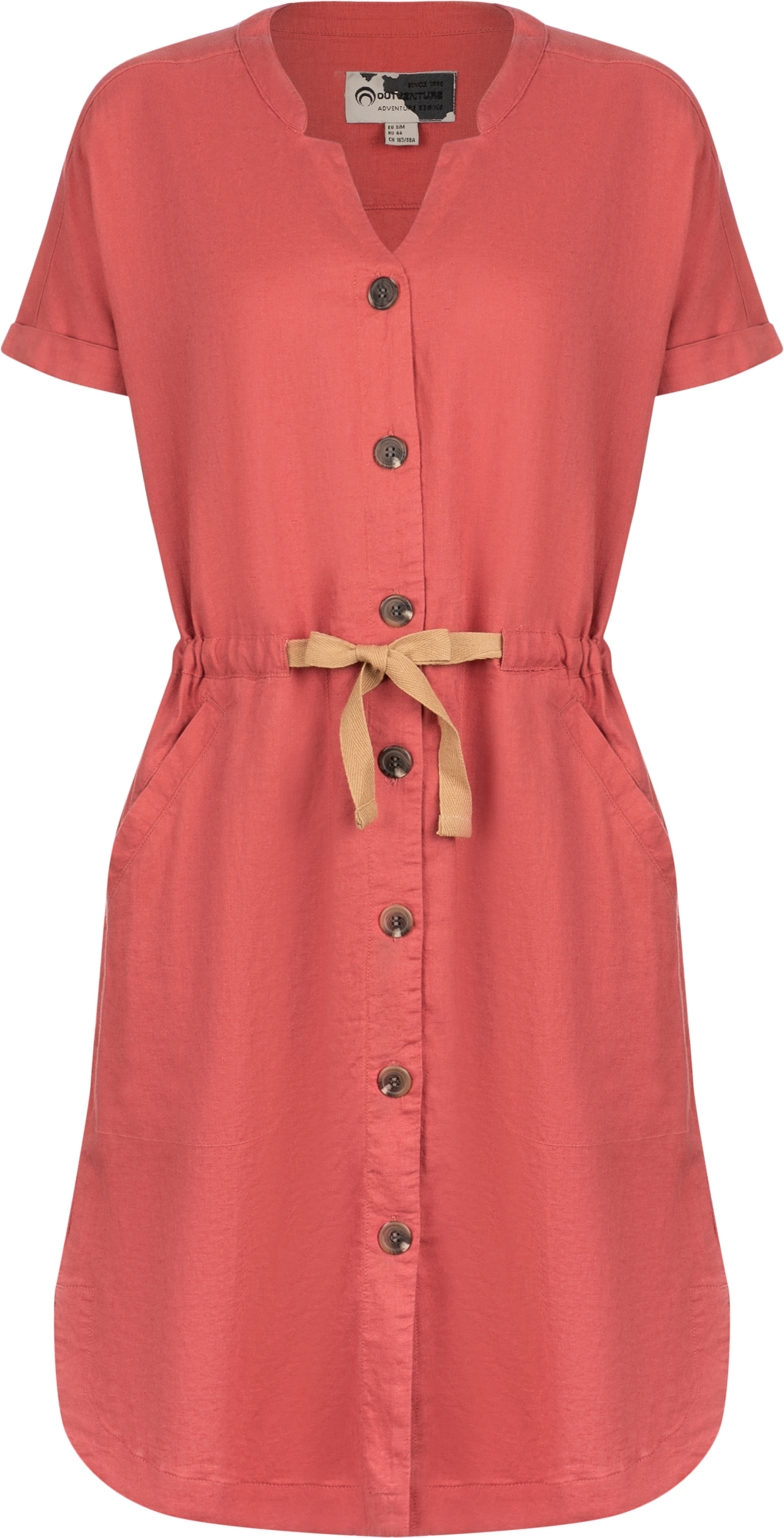Outventure Платье женское Outventure, размер 46 платье женское ягода