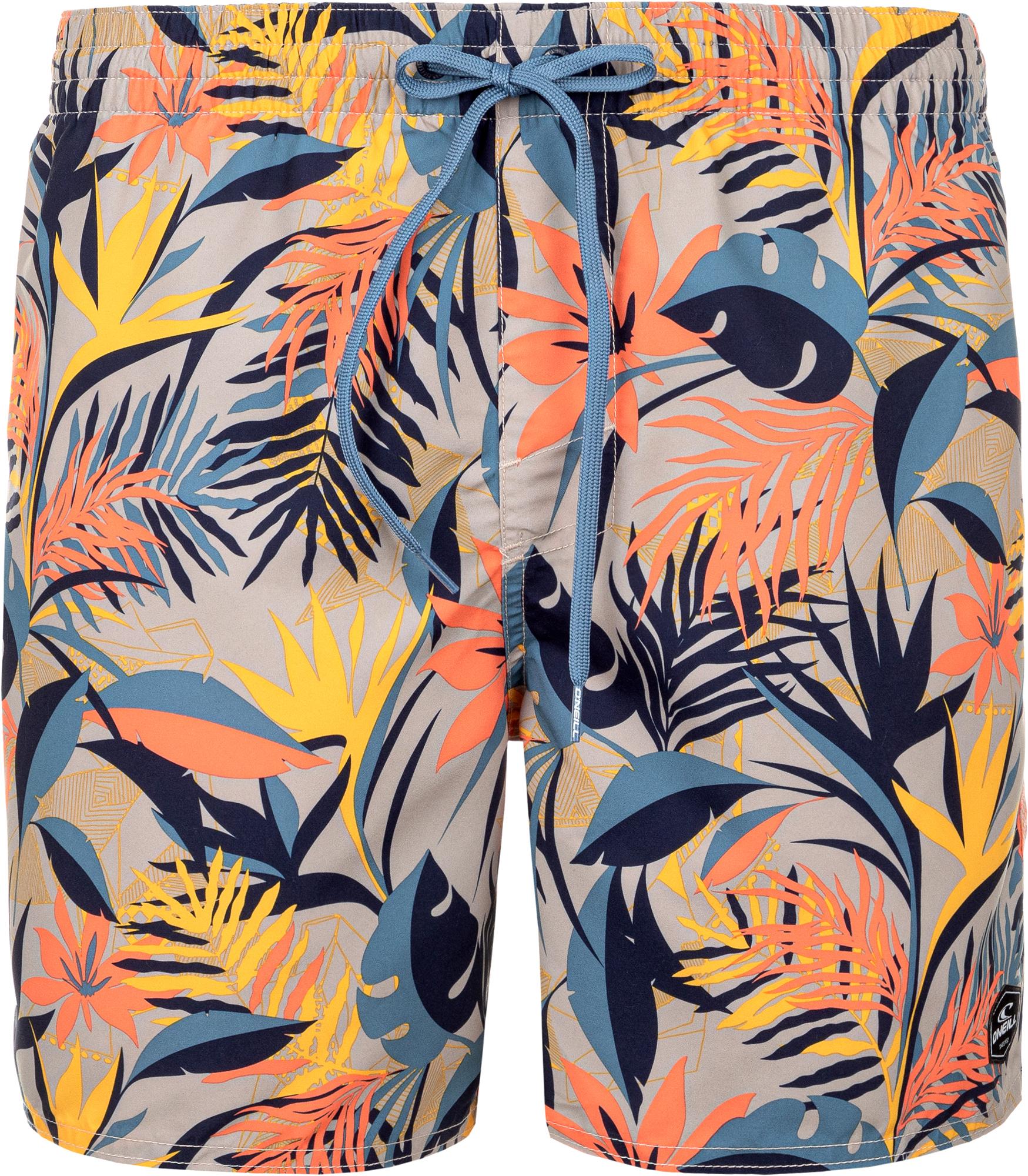 O'Neill Шорты пляжные мужские O'Neill Flower, размер 50-52 o neill шорты пляжные мужские o neill cali размер 54 56