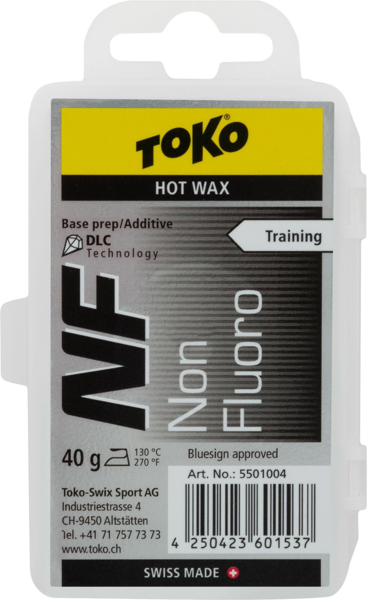 TOKO Мазь скольжения TOKO NF Hot Wax black, размер Без размера парафин oneball x wax 5 pack assorted