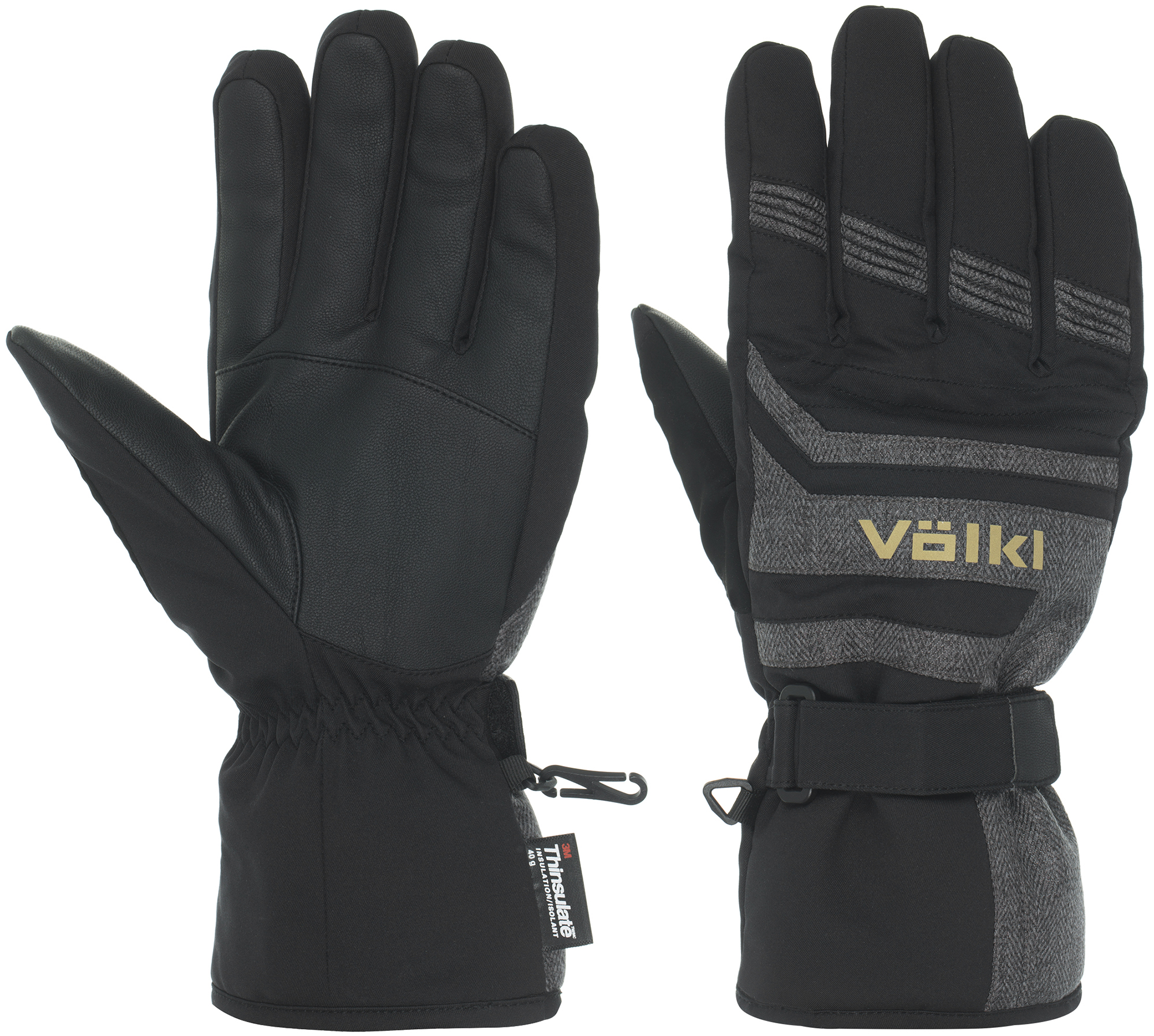 Volkl Перчатки мужские Volkl, размер 10