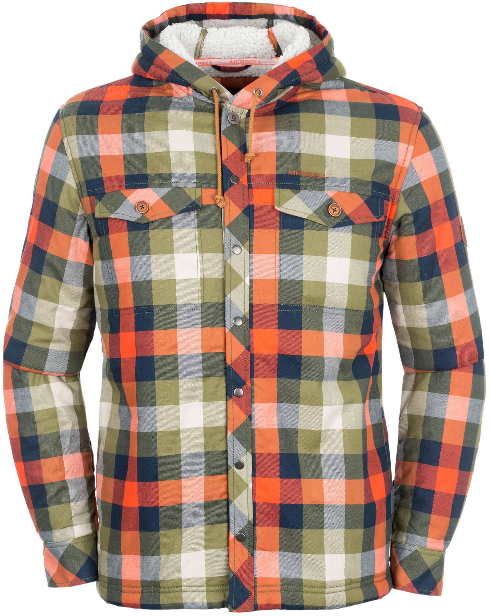 Merrell Рубашка с длинным рукавом мужская Merrell Patavium ветровка мужская merrell eburacum