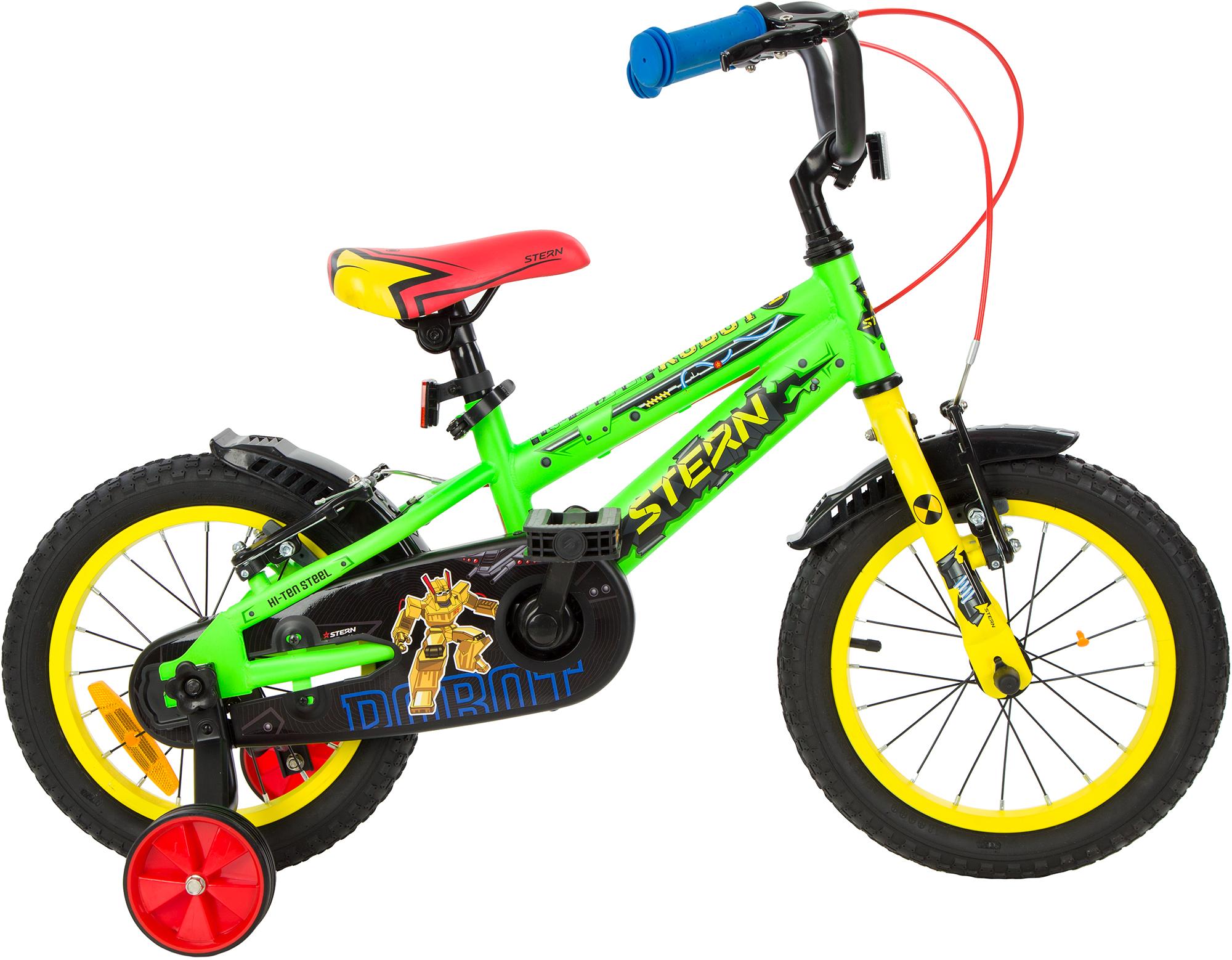 цена на Stern Велосипед для мальчиков Stern Robot 14