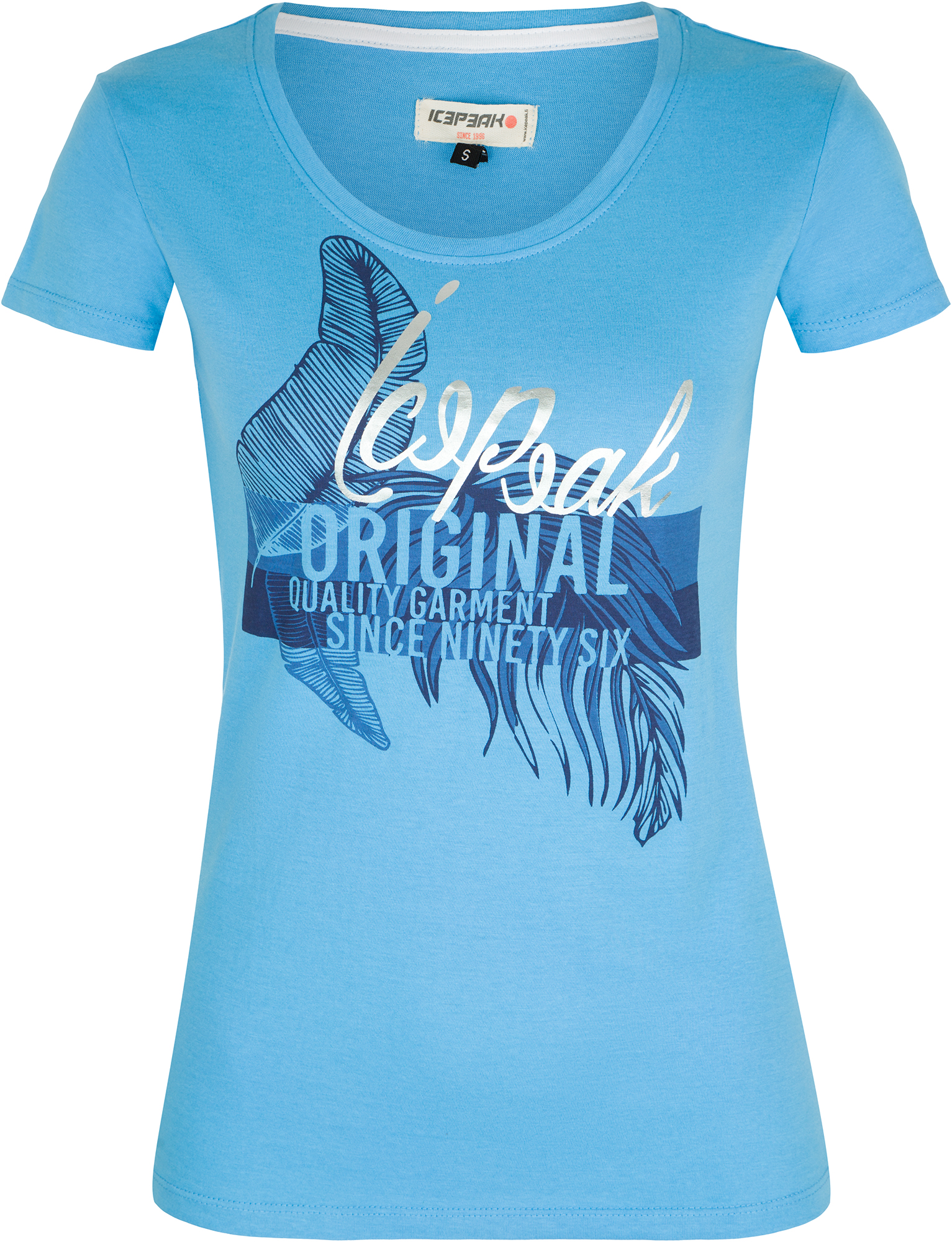 IcePeak Футболка женская IcePeak Mona, размер 50-52 футболка мужская icepeak цвет темно синий 757723689iv 390 размер m 50