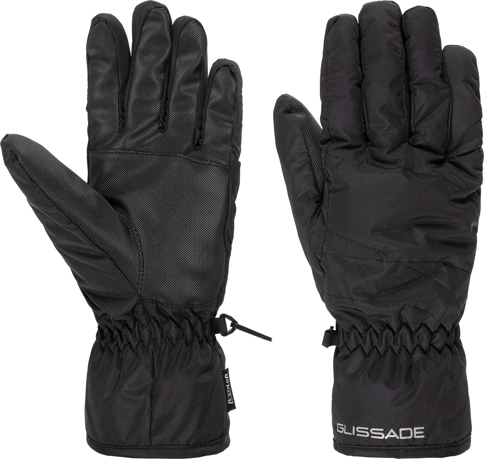 Фото - Glissade Перчатки женские Glissade, размер 7 перчатки женские fabretti цвет черный зеленый 12 66 1 15 black green размер 7 5