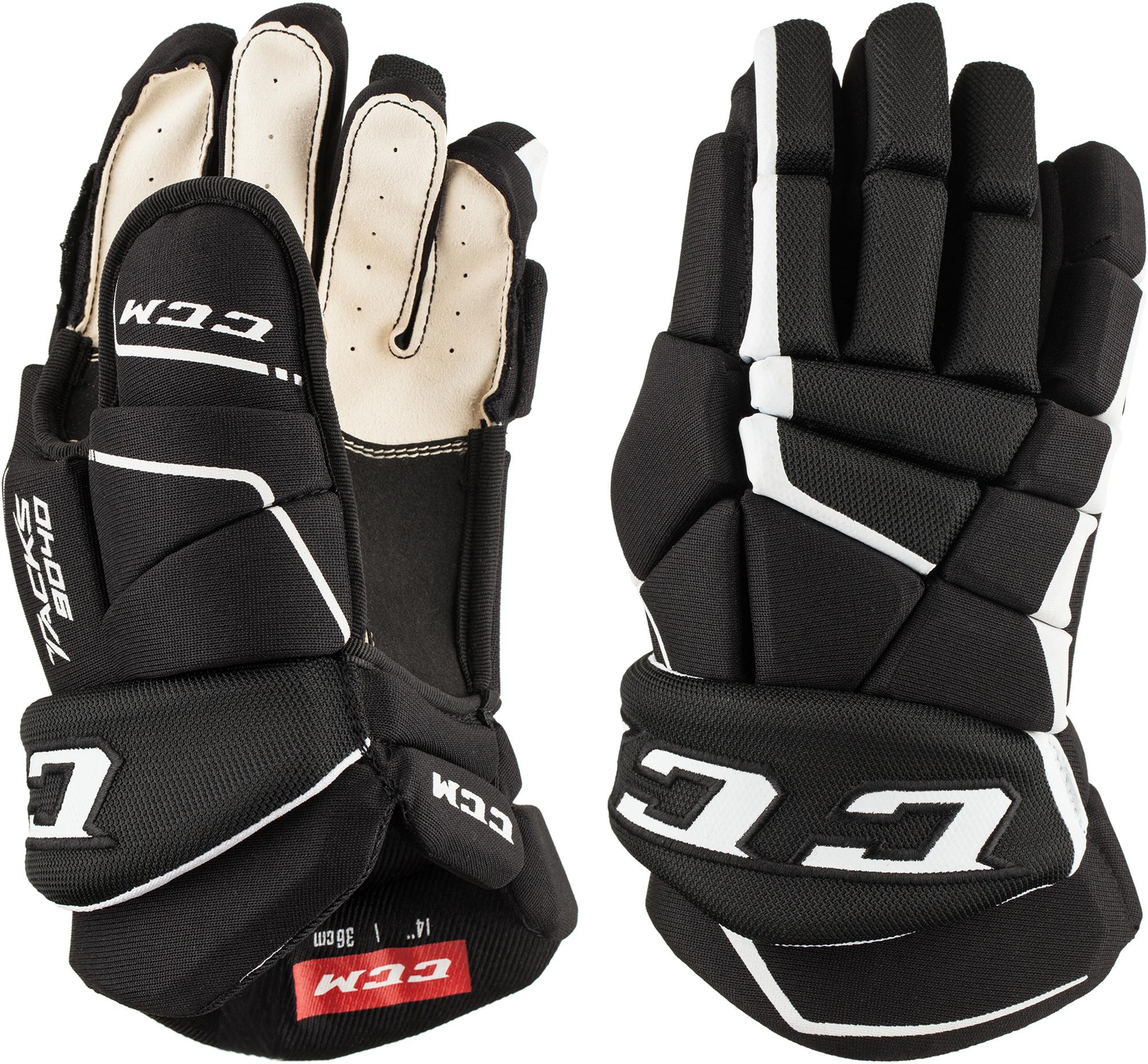 CCM Перчатки хоккейные подростковые CCM HG9040 JR ccm перчатки хоккейные ccm ccm js 350 размер 13
