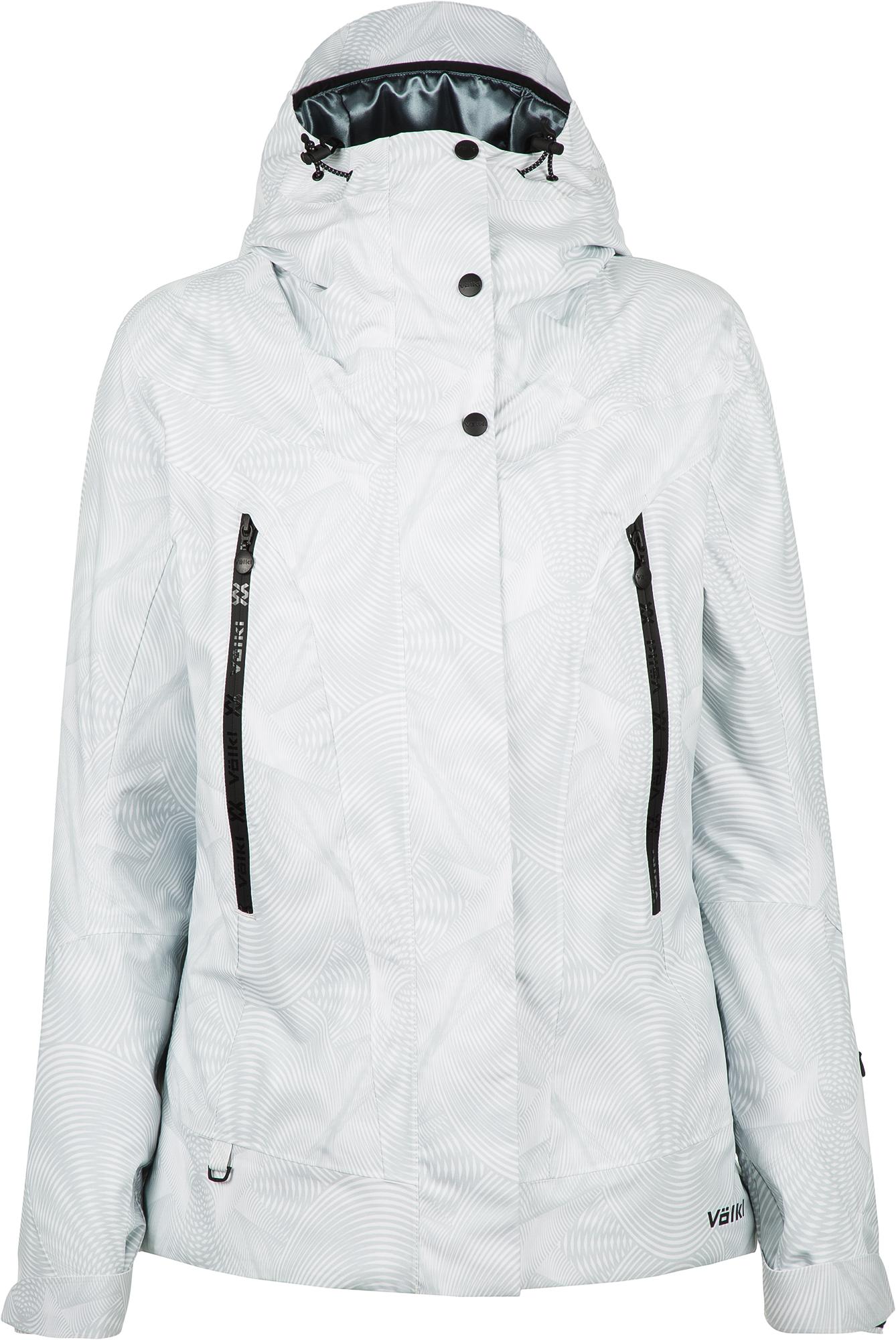 Volkl Куртка утепленная женская Volkl, размер 50 volkl volkl flair sc vmotion 11 alu gw lady 18 19 размер 158