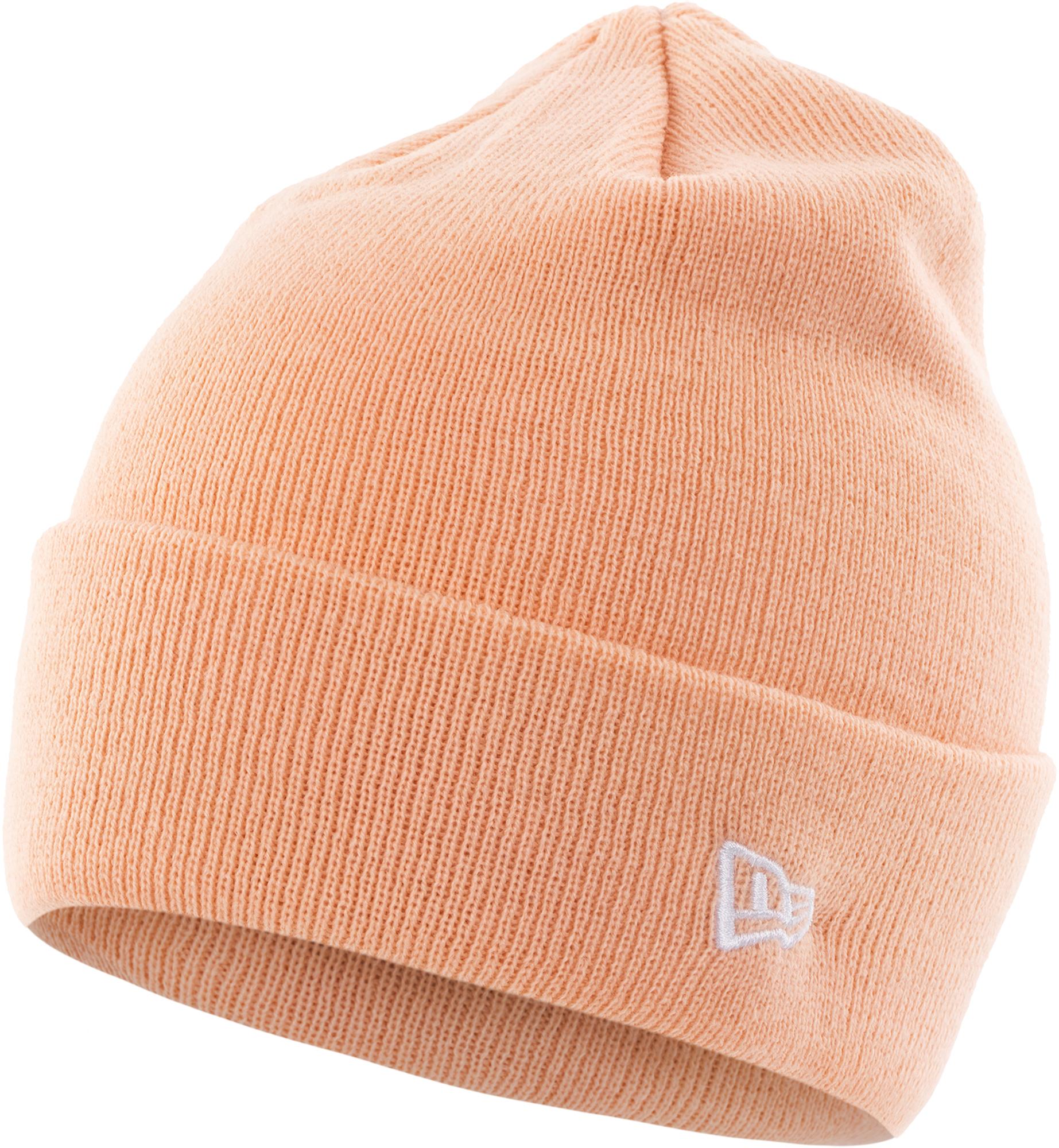 New Era Шапка женская New Era Ess Knit Cuff new era шапка new era lic 801 essential cuff knit размер без размера