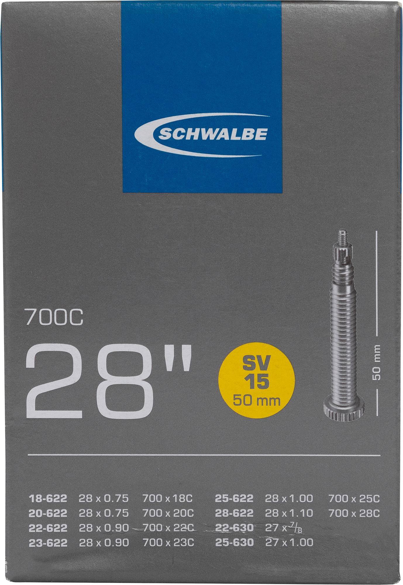Schwalbe Камера Schwalbe SV15 50mm 28