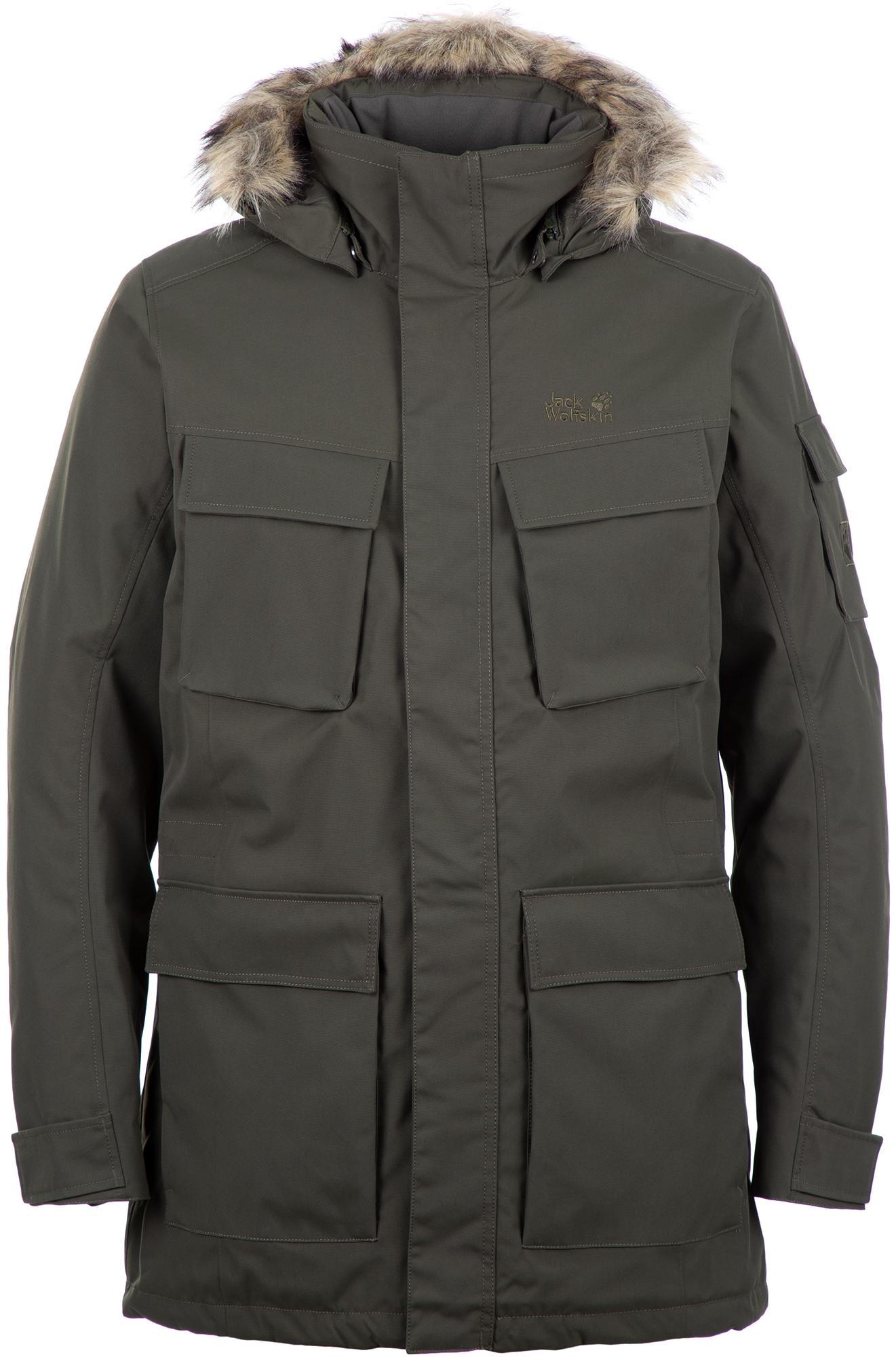 лучшая цена Jack Wolfskin Куртка утепленная мужская JACK WOLFSKIN Glacier Canyon, размер 58