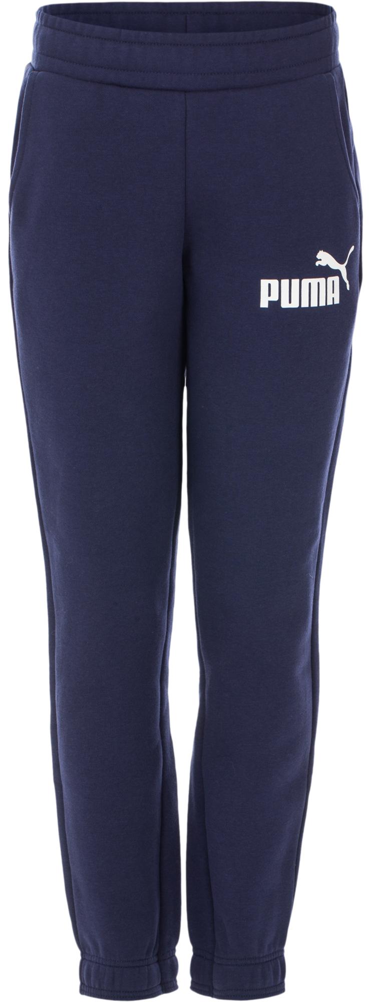 Puma Брюки для мальчиков Puma ESS Logo Sweat, размер 164 брюки спортивные женские puma ess sweat pant tr w цвет светло серый 838430041 размер xl 48 50