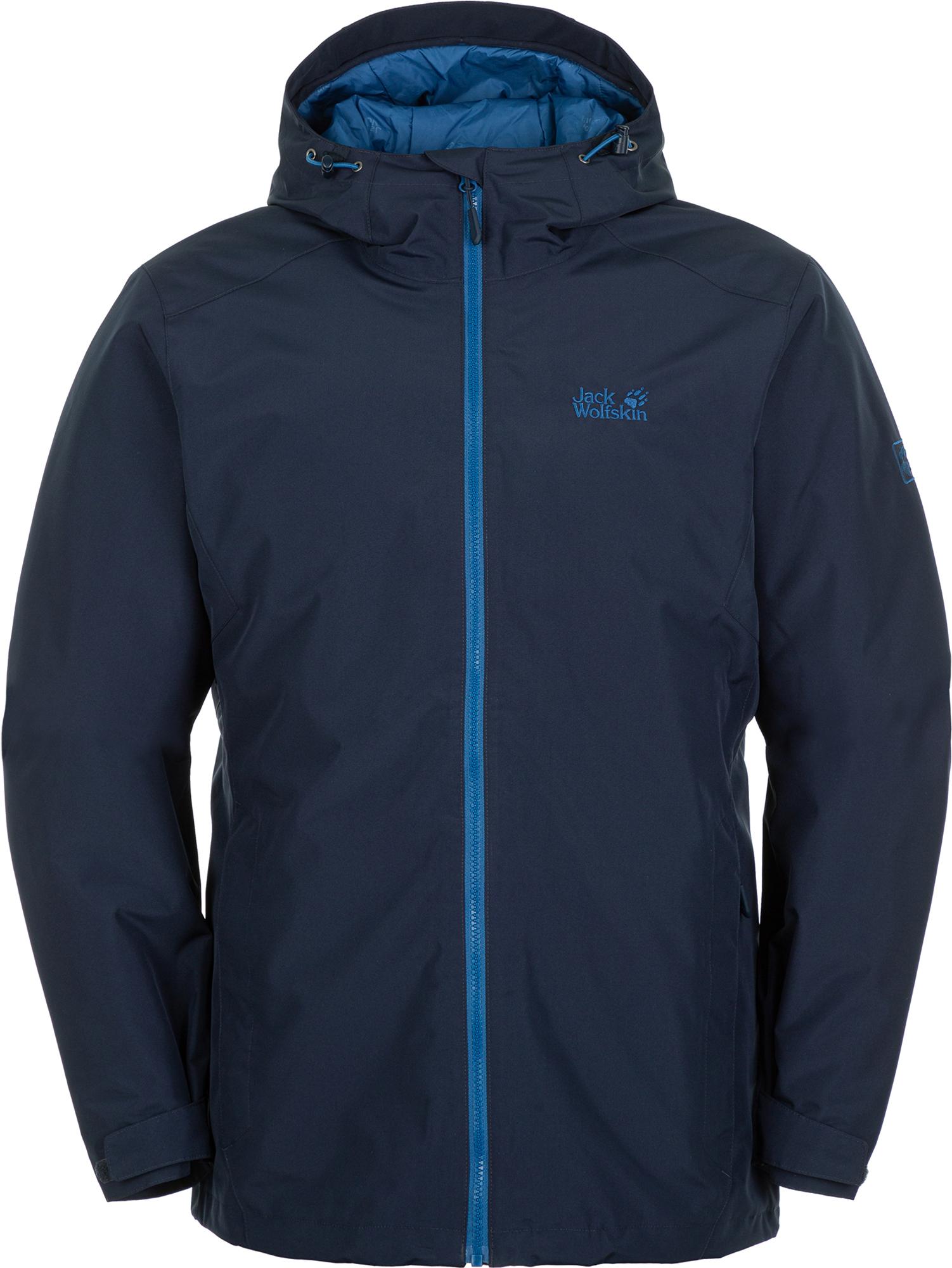 Jack Wolfskin Куртка утепленная мужская Chilly Morning, размер 58