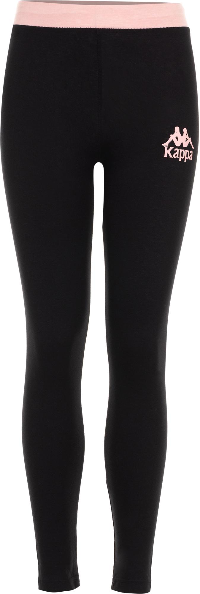 Kappa Легинсы для девочек Kappa, размер 128 kappa брюки для девочек kappa размер 134