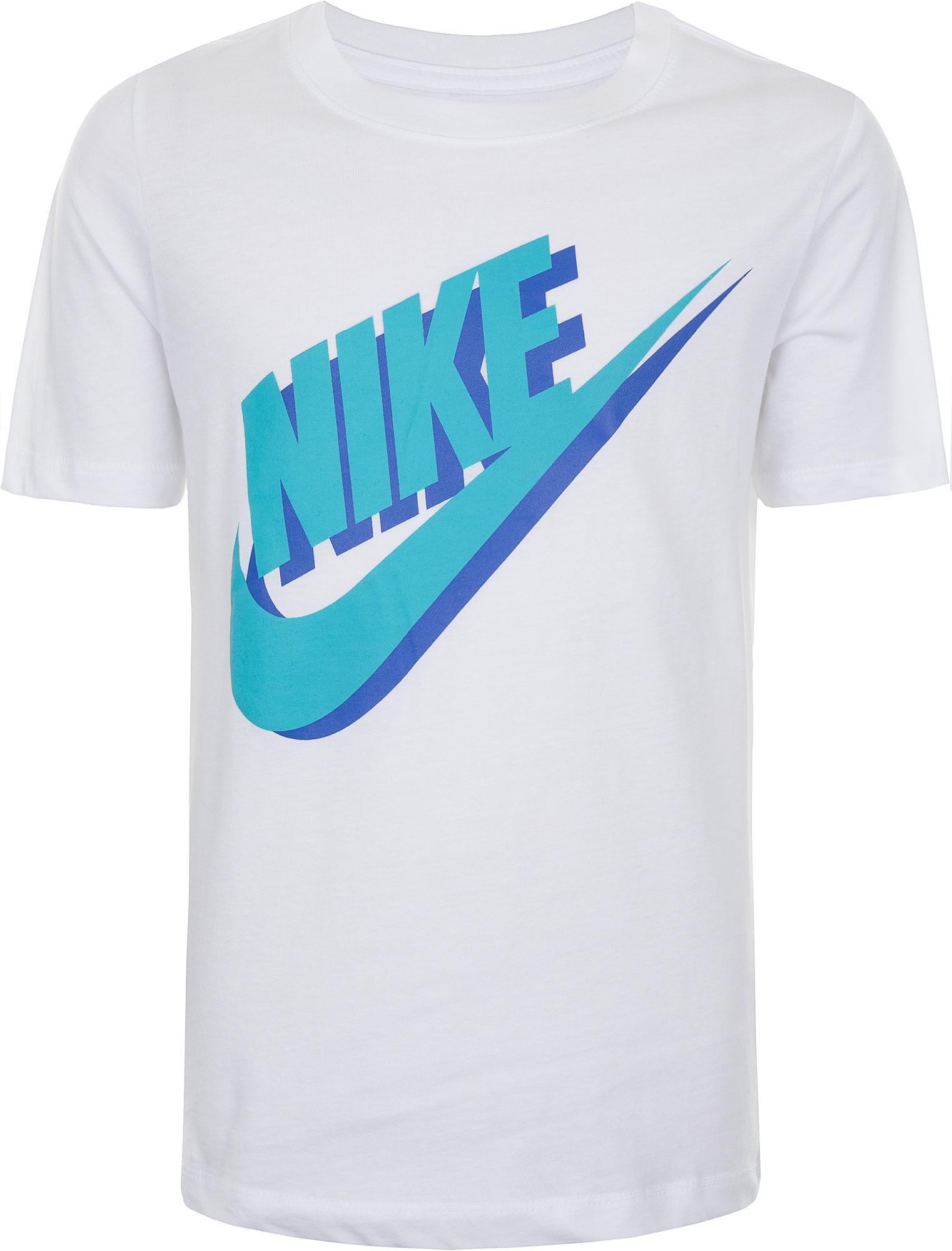 цены на Nike Футболка для мальчиков Nike, размер 158-170 в интернет-магазинах