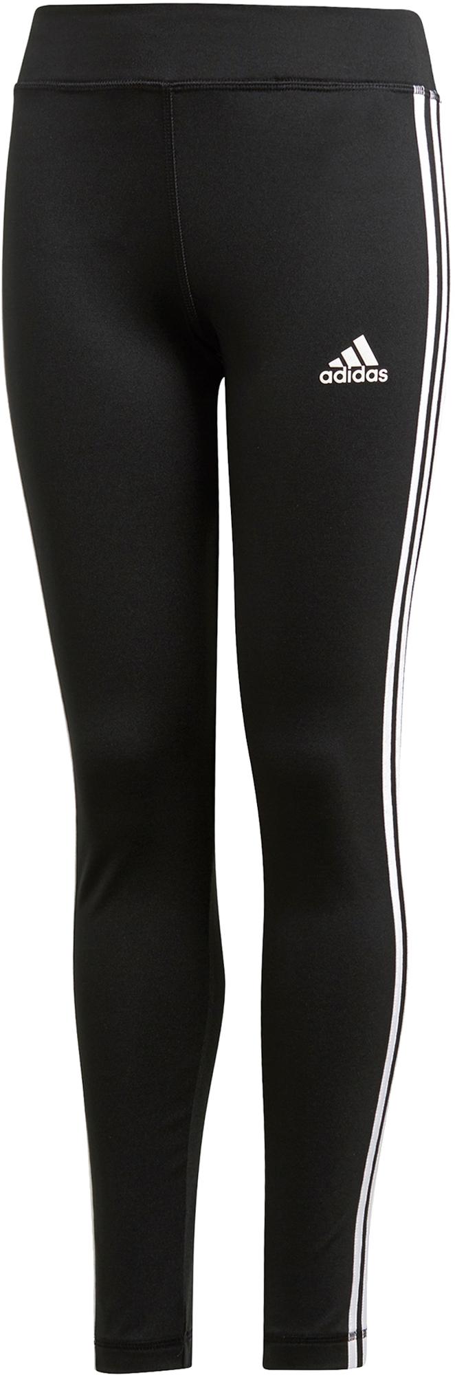Adidas Легинсы для девочек adidas Equip 3 Stripes, размер 128 adidas легинсы для девочек adidas essentials 3 stripes размер 128