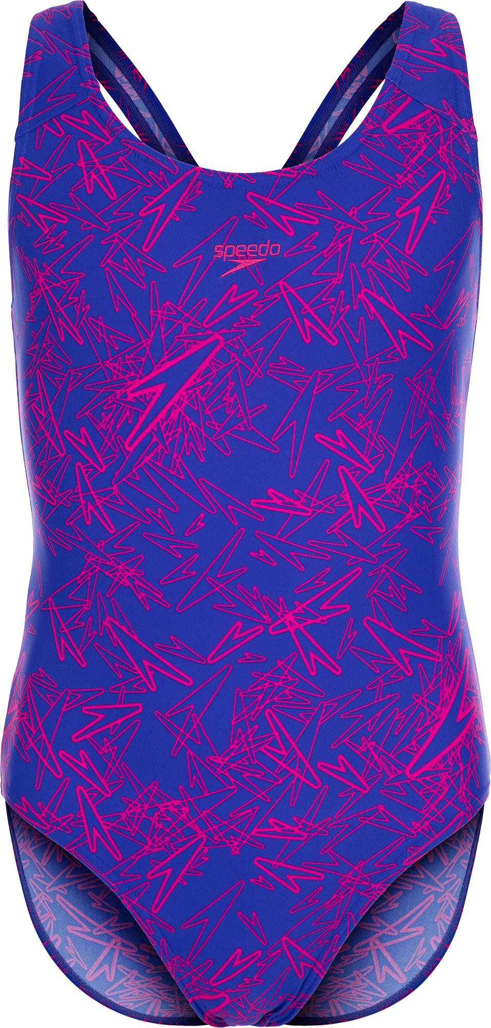 купить Speedo Купальник для девочек Speedo Boom Allover Splashback , размер 152 по цене 1439 рублей