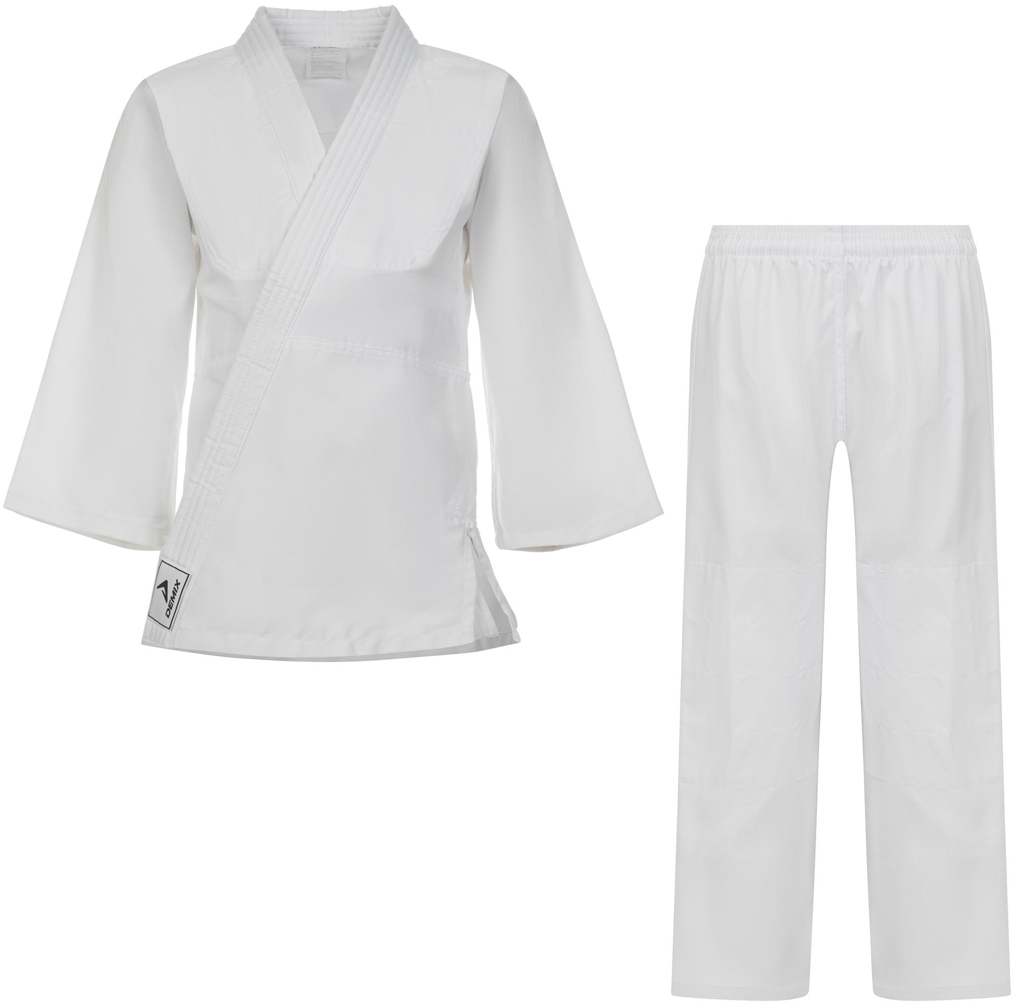 Demix Кимоно для дзюдо детское Demix, размер 140 платье новое кимоно