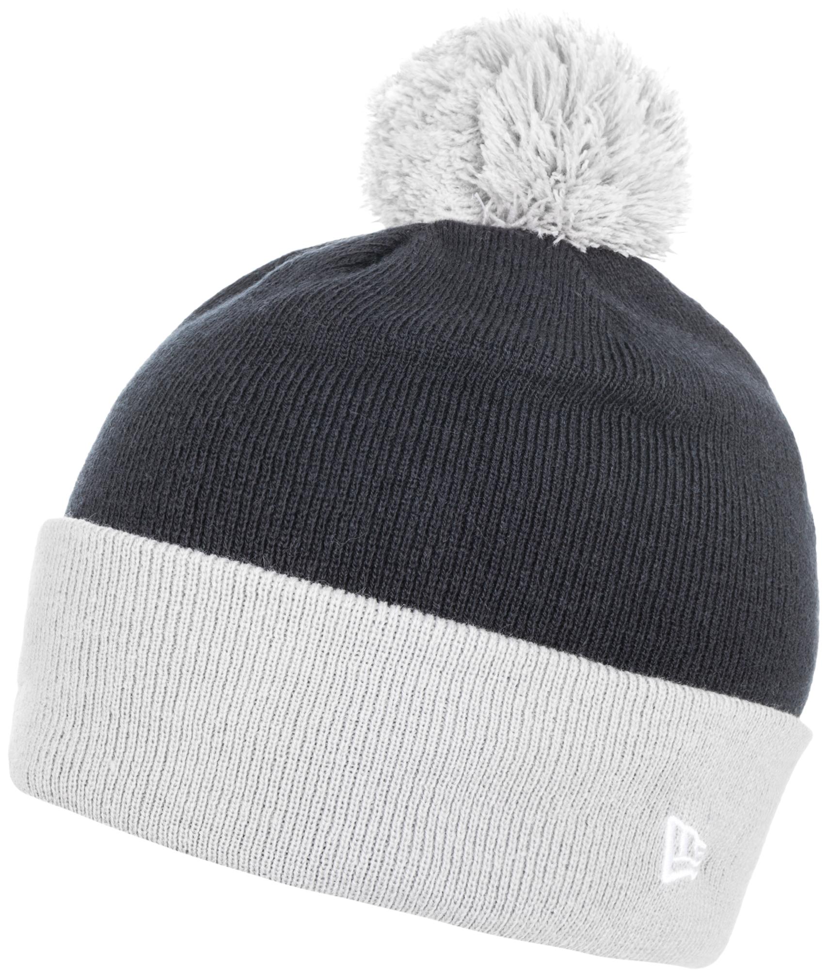 New Era Шапка для мальчиков New Era Ne Cuff Pom new era шапка new era basic long knit ne