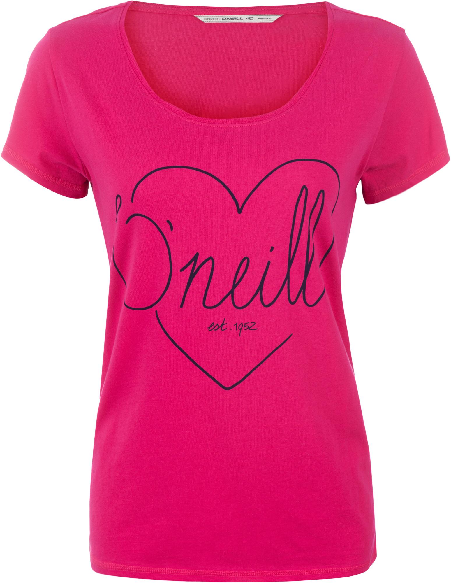 O'Neill Футболка женская O'Neill Heart Graphic платье o neill o neill on355ewqkl63
