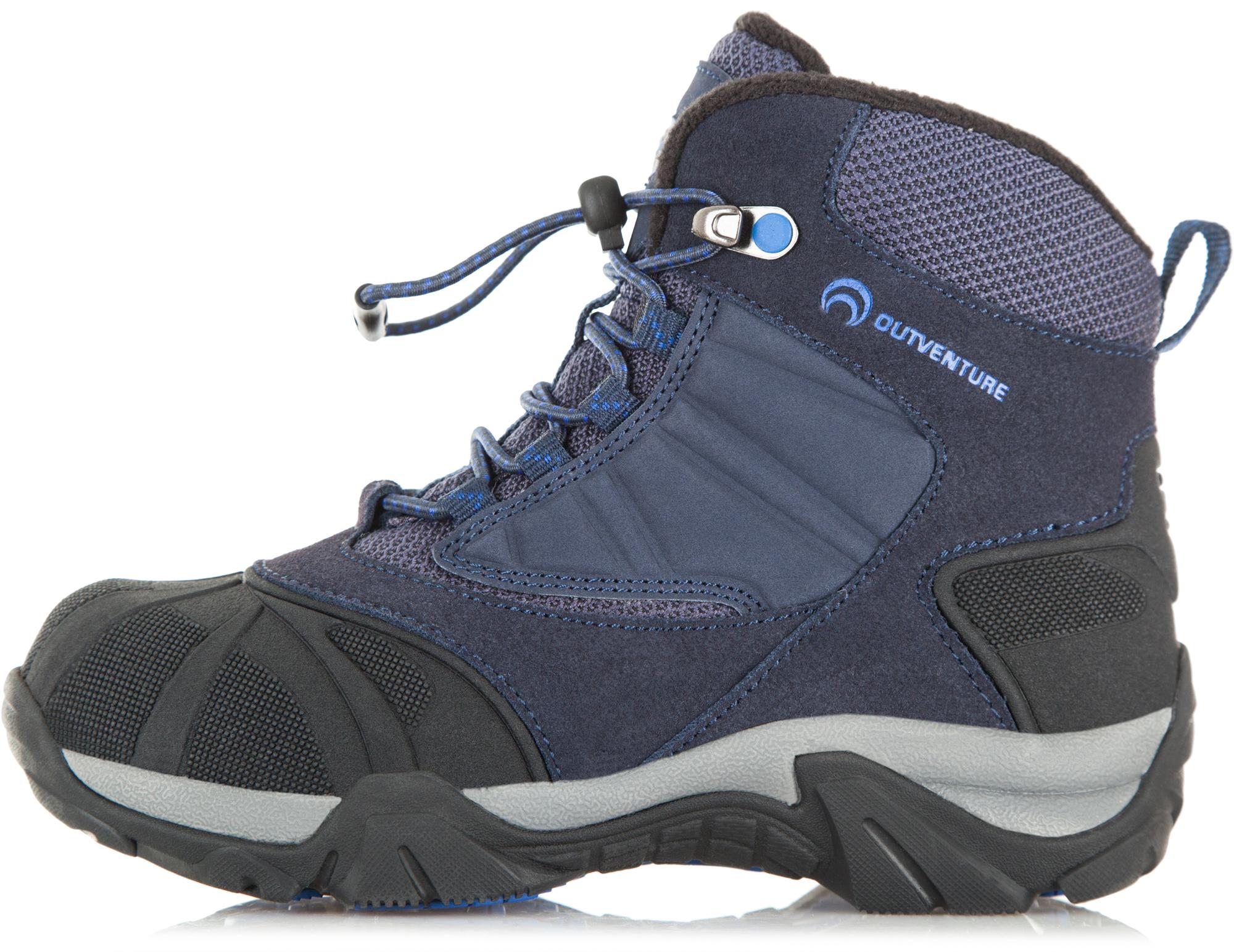 Outventure Ботинки утепленные для мальчиков Outventure Crater III, размер 33 outventure ботинки утепленные для мальчиков outventure