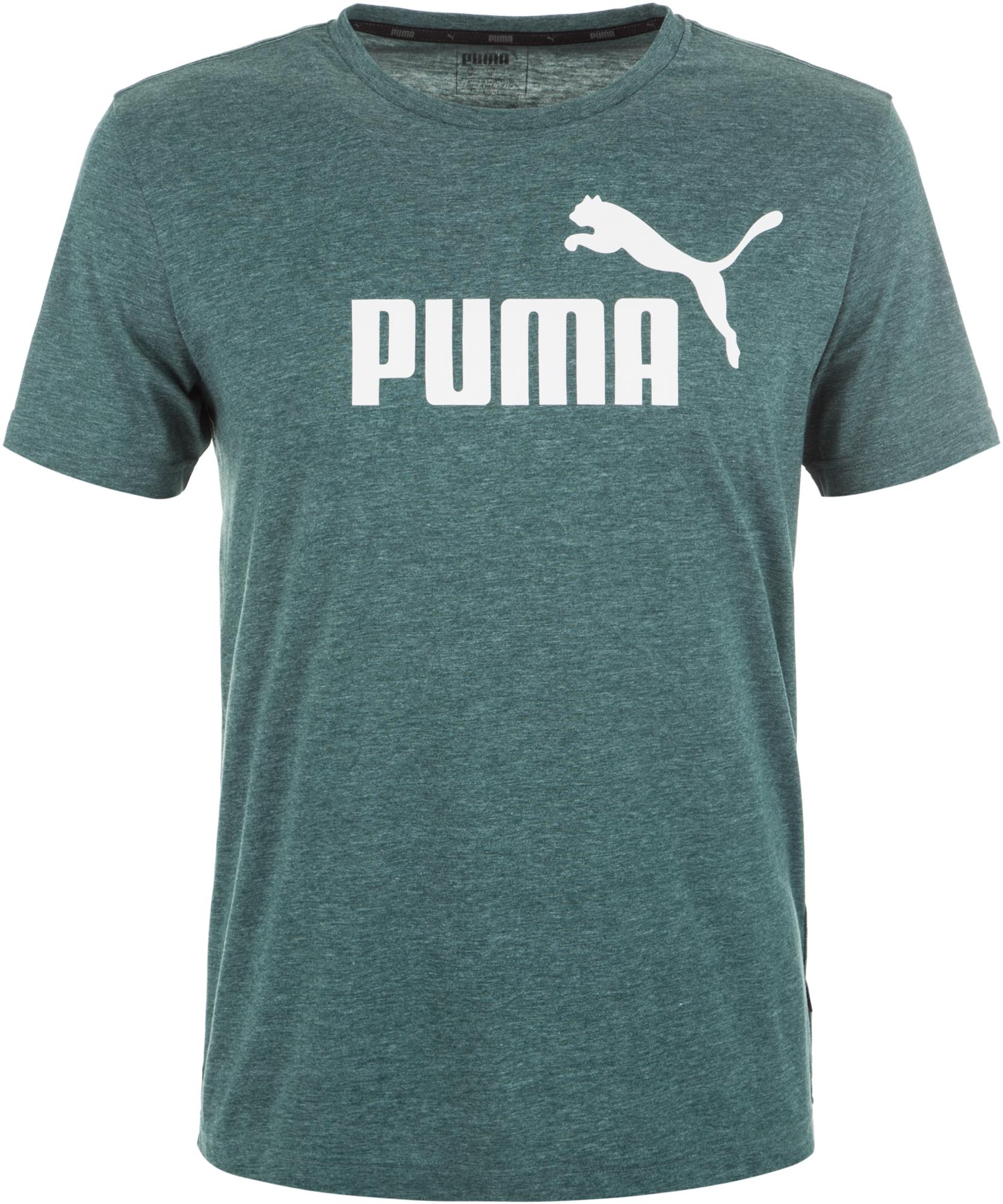 Puma Футболка мужская Puma ESS+ Heather Tee, размер 52-54