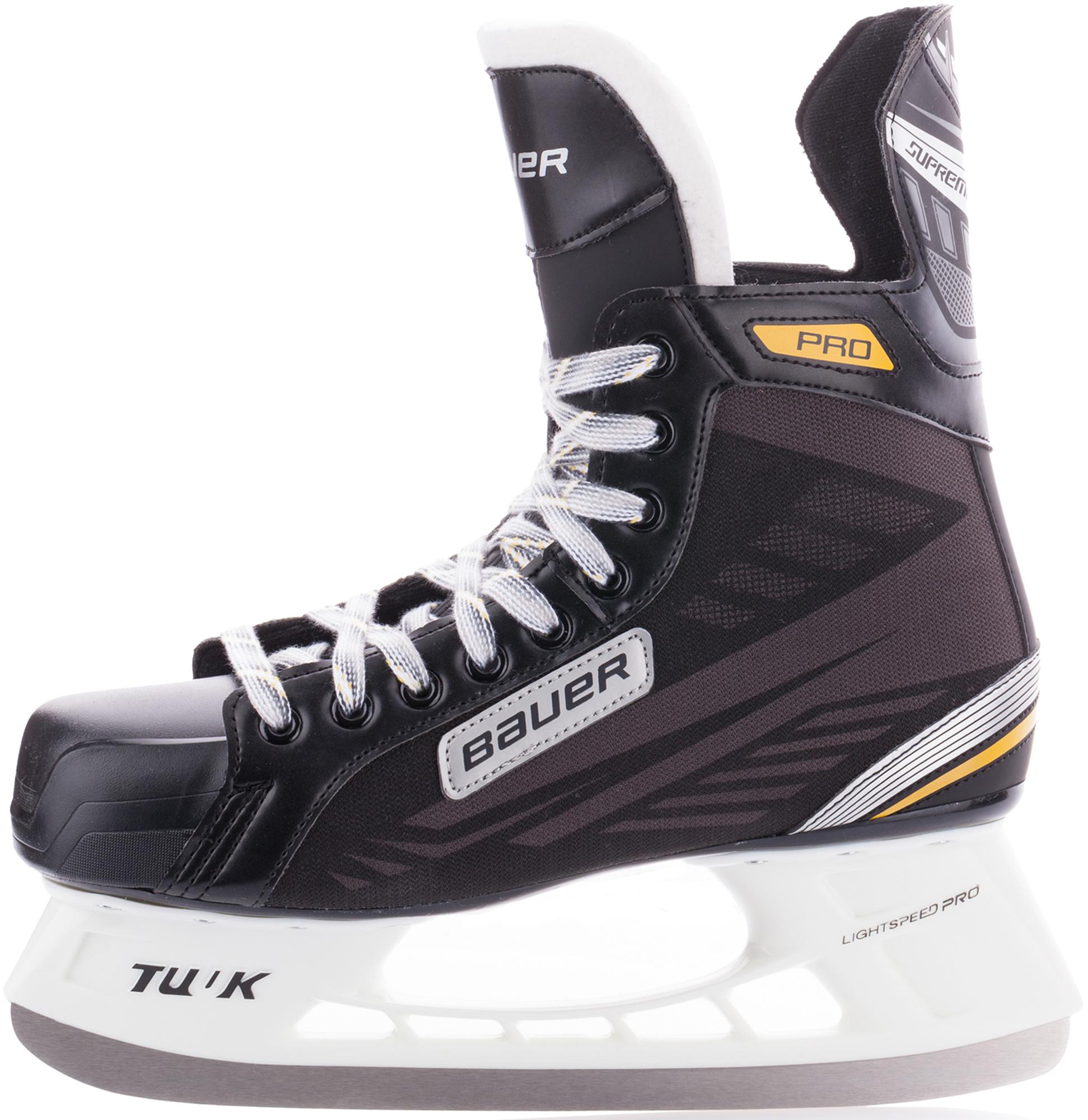 Bauer Коньки хоккейные Bauer Supreme Pro коньки хоккейные bauer supreme s160 ee подростковые