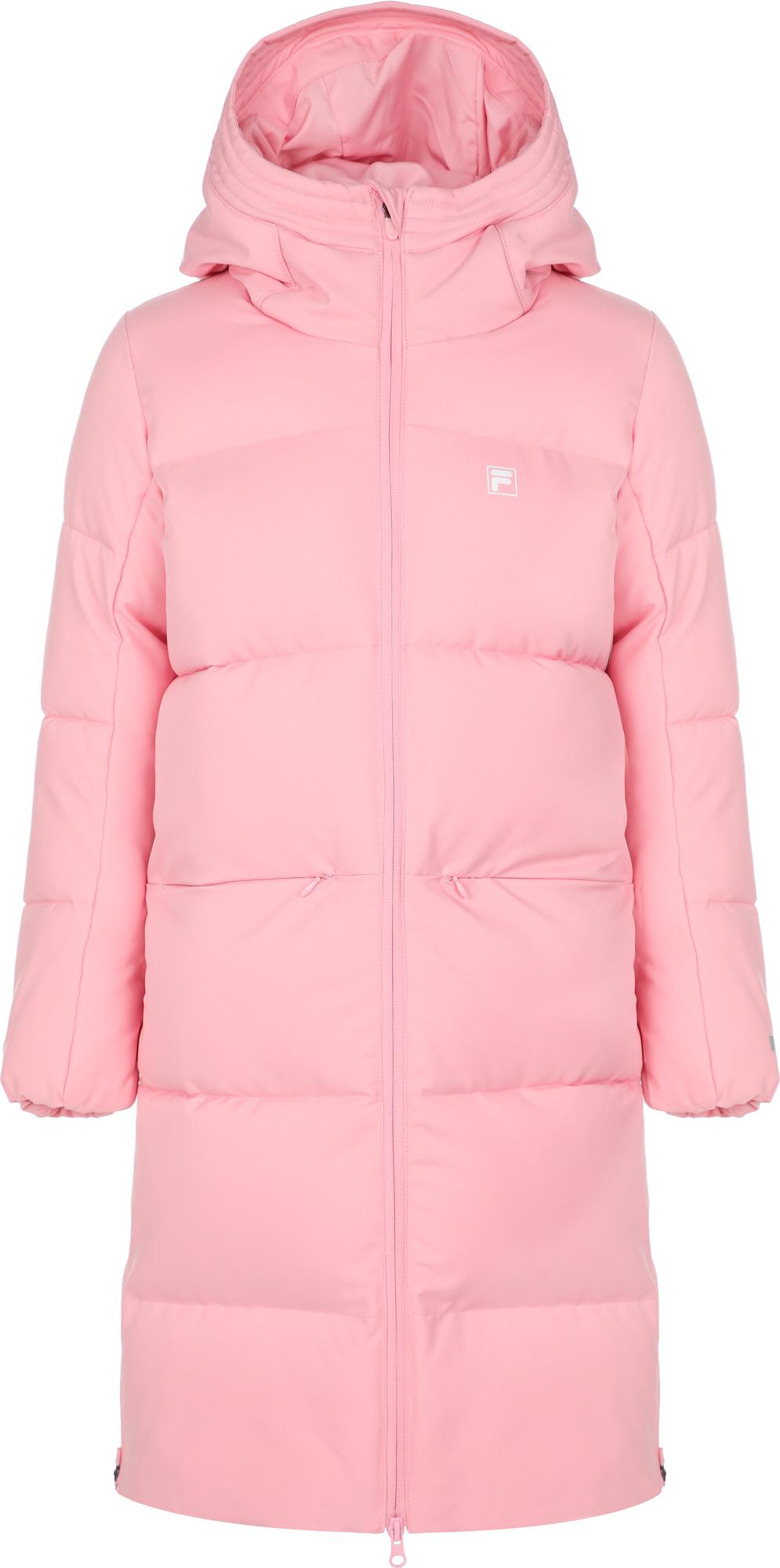 fila худи для девочек fila размер 164 FILA Куртка утепленная для девочек FILA, размер 164