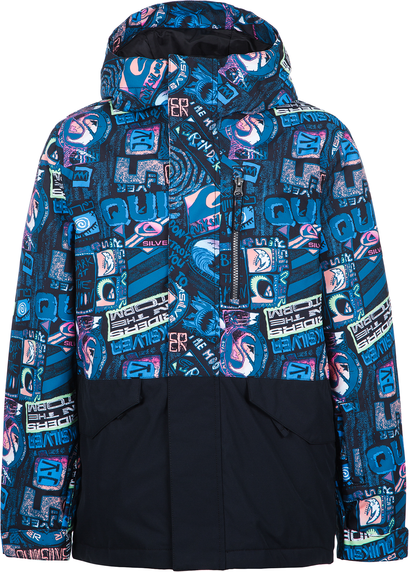 Quiksilver Куртка утепленная для мальчиков Quiksilver Mission Block Youth, размер 152-158 куртка quiksilver quiksilver qu192emedhx1