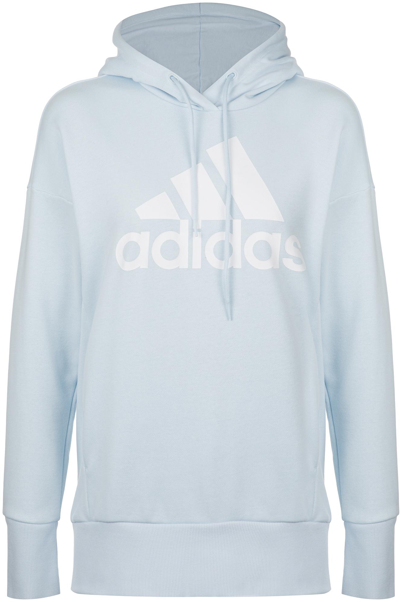 худи женское adidas ess 3s fz hd цвет серый розовый br2438 размер s 42 44 Adidas Худи женская adidas Badge of Sport, размер 38-40