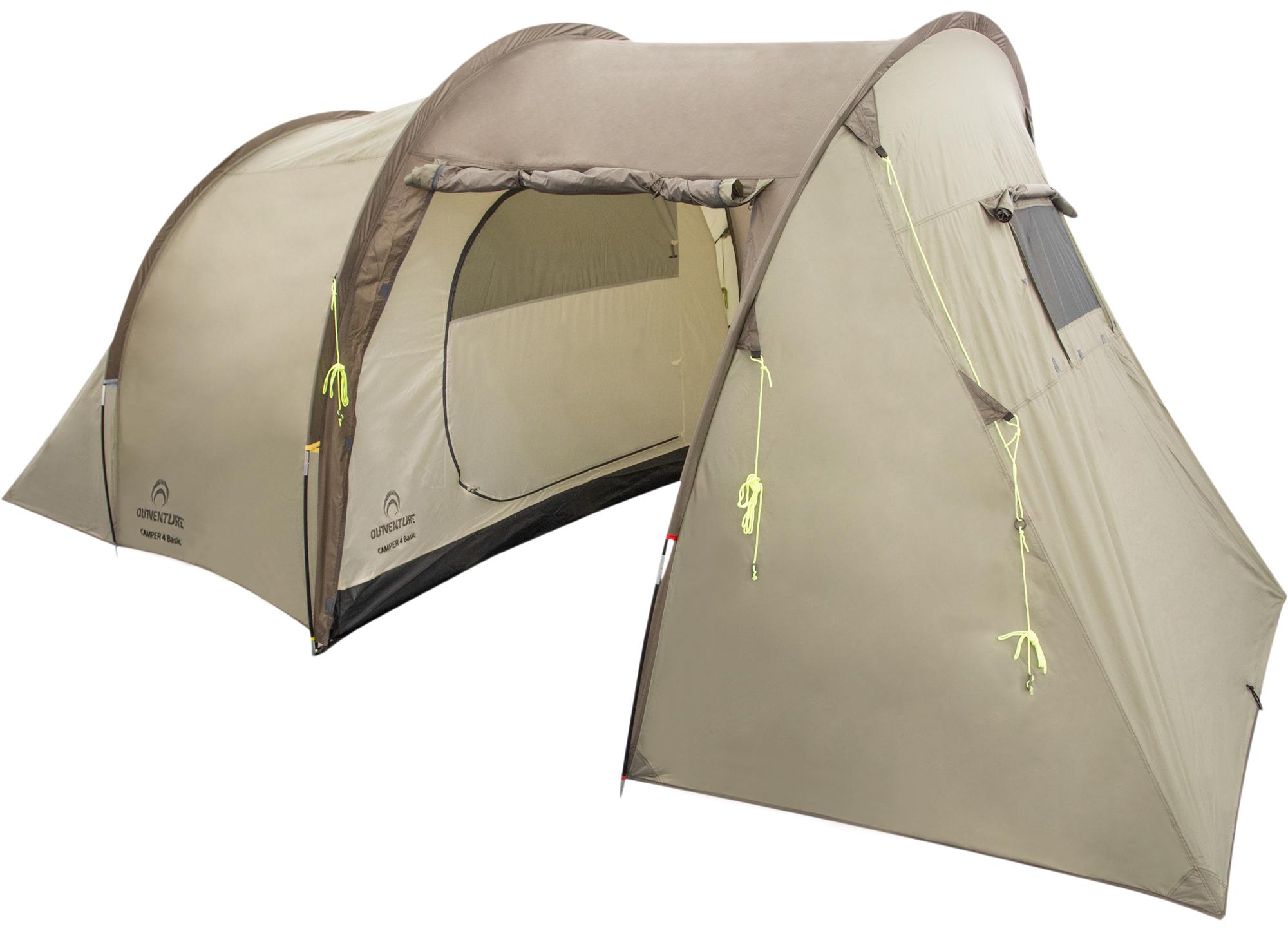 Outventure Палатка 4-местная Outventure Camper 4 Basic зимняя палатка медведь 4 купить