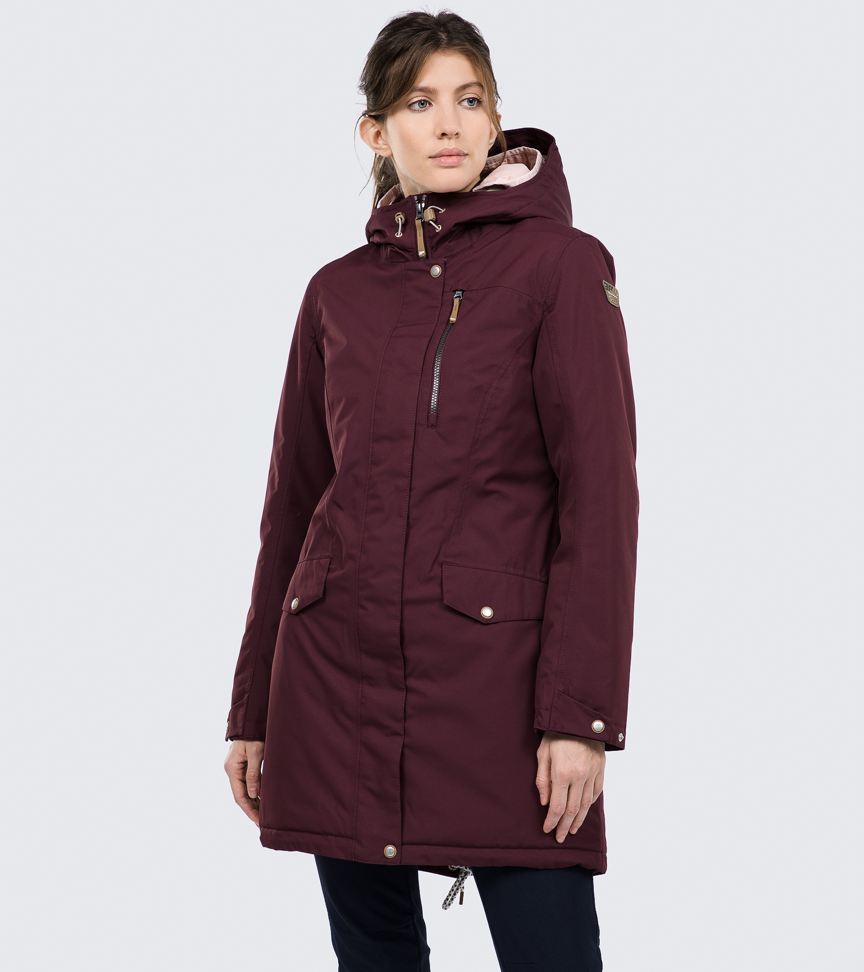 IcePeak Куртка утепленная женская IcePeak Adona, размер 52