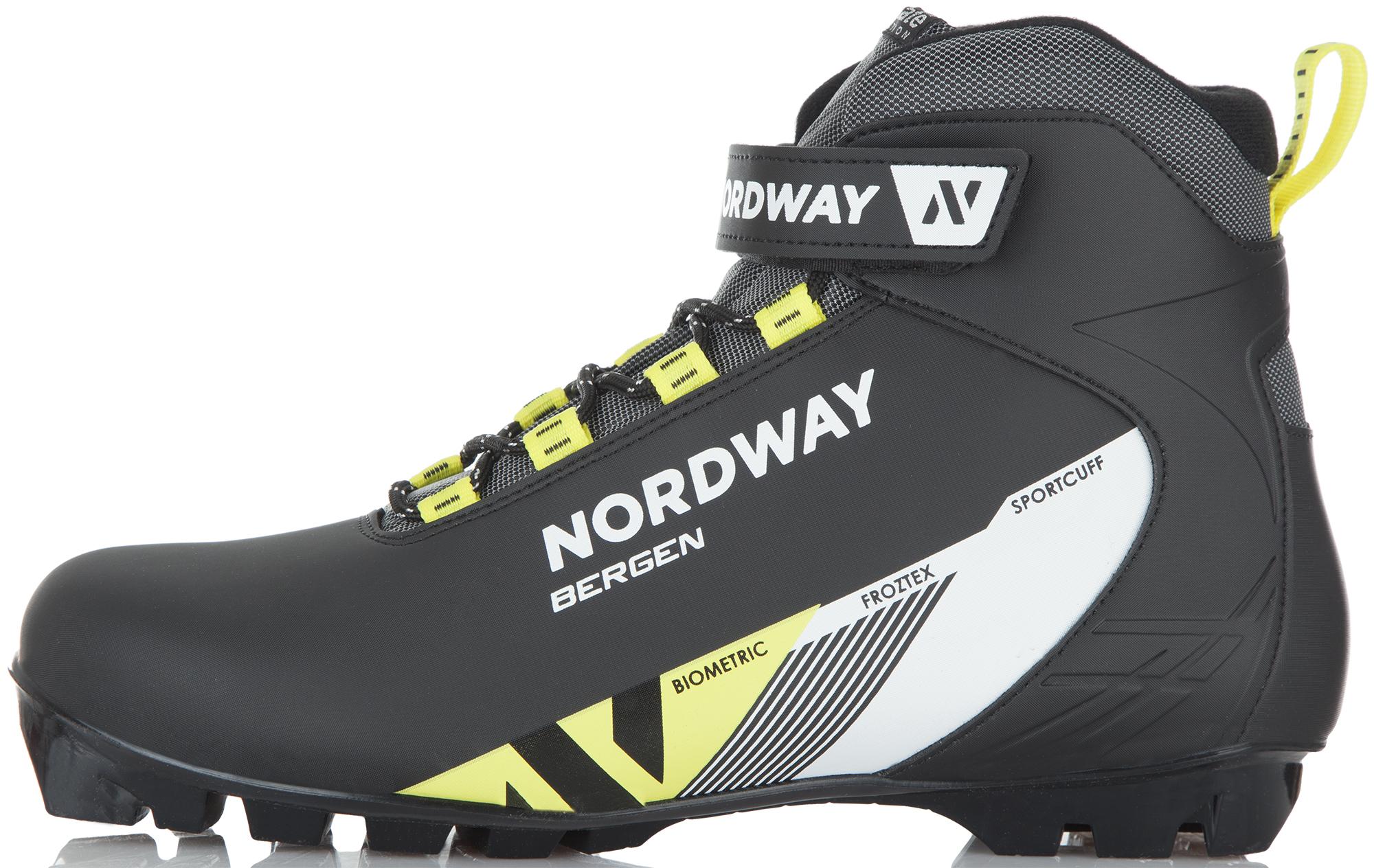 Nordway Ботинки для беговых лыж Nordway Bergen палки для беговых лыж женские nordway vega