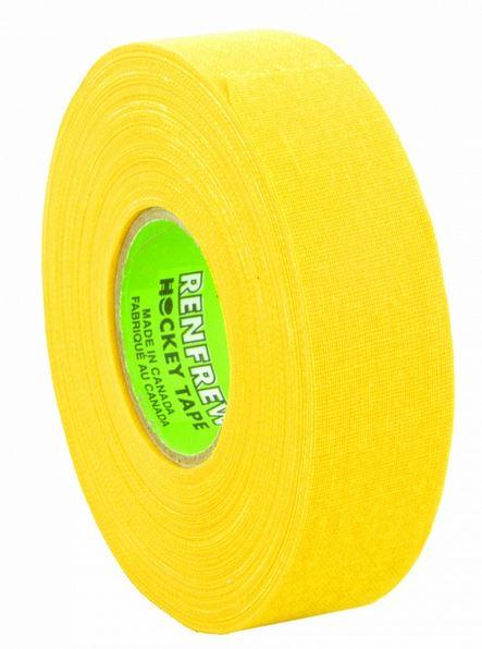 MadGuy Лента хоккейная RENFREW 24 мм х 25 м желтый