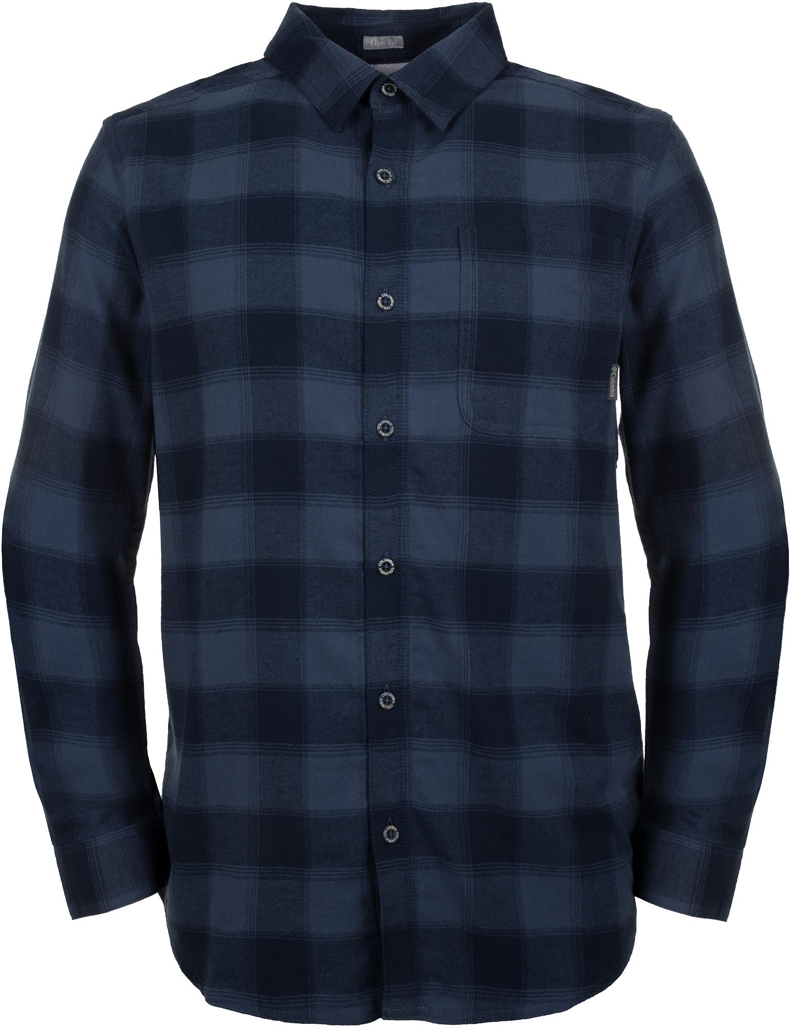 Columbia Рубашка с длинным рукавом мужская Columbia Boulder Ridge, размер 46-48 стоимость